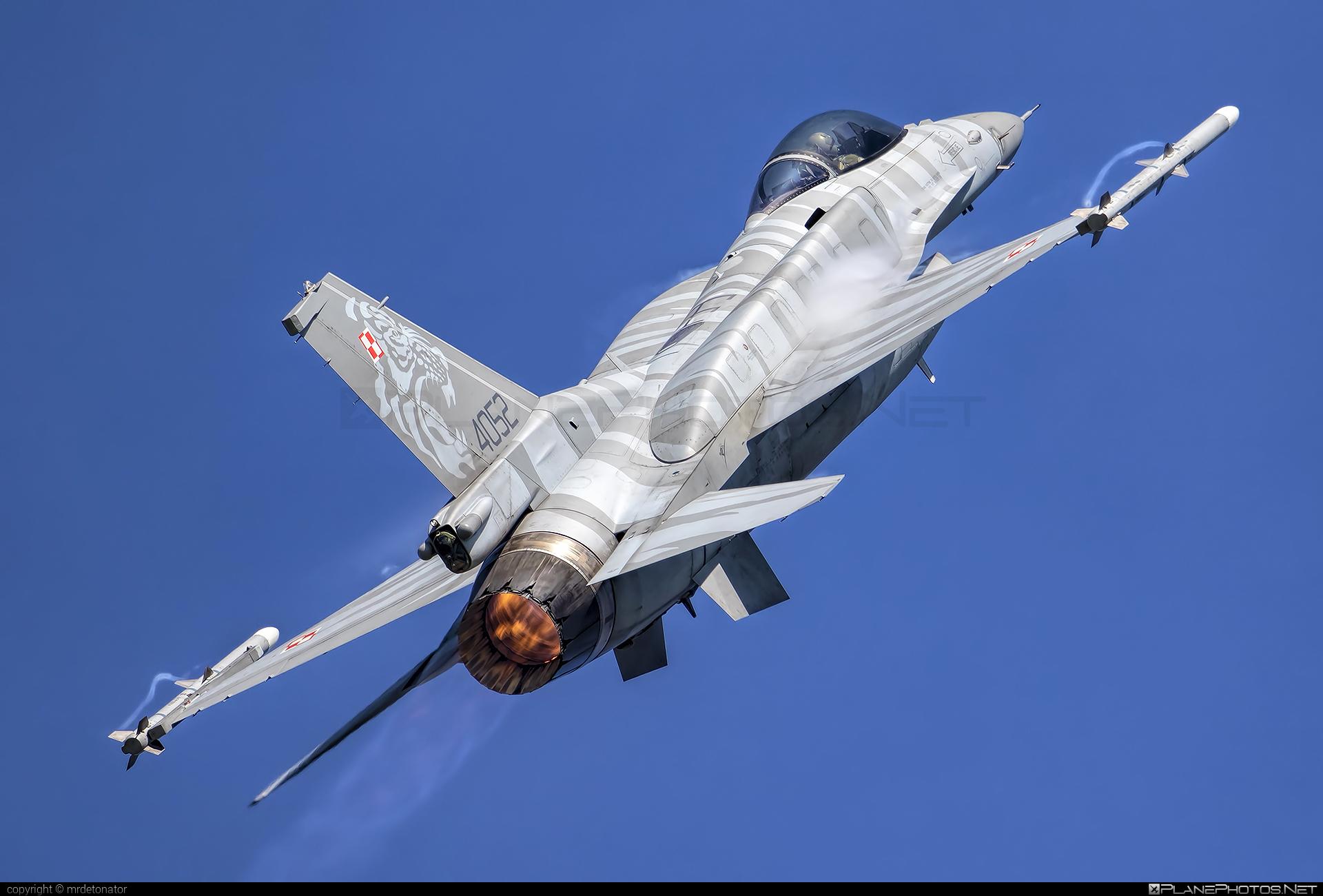 Lockheed Martin F-16CJ Fighting Falcon - 4052 operated by Siły Powietrzne Rzeczypospolitej Polskiej (Polish Air Force) #f16 #f16cj #fightingfalcon #lockheedmartin #natodays #natodays2018 #polishairforce #silypowietrzne