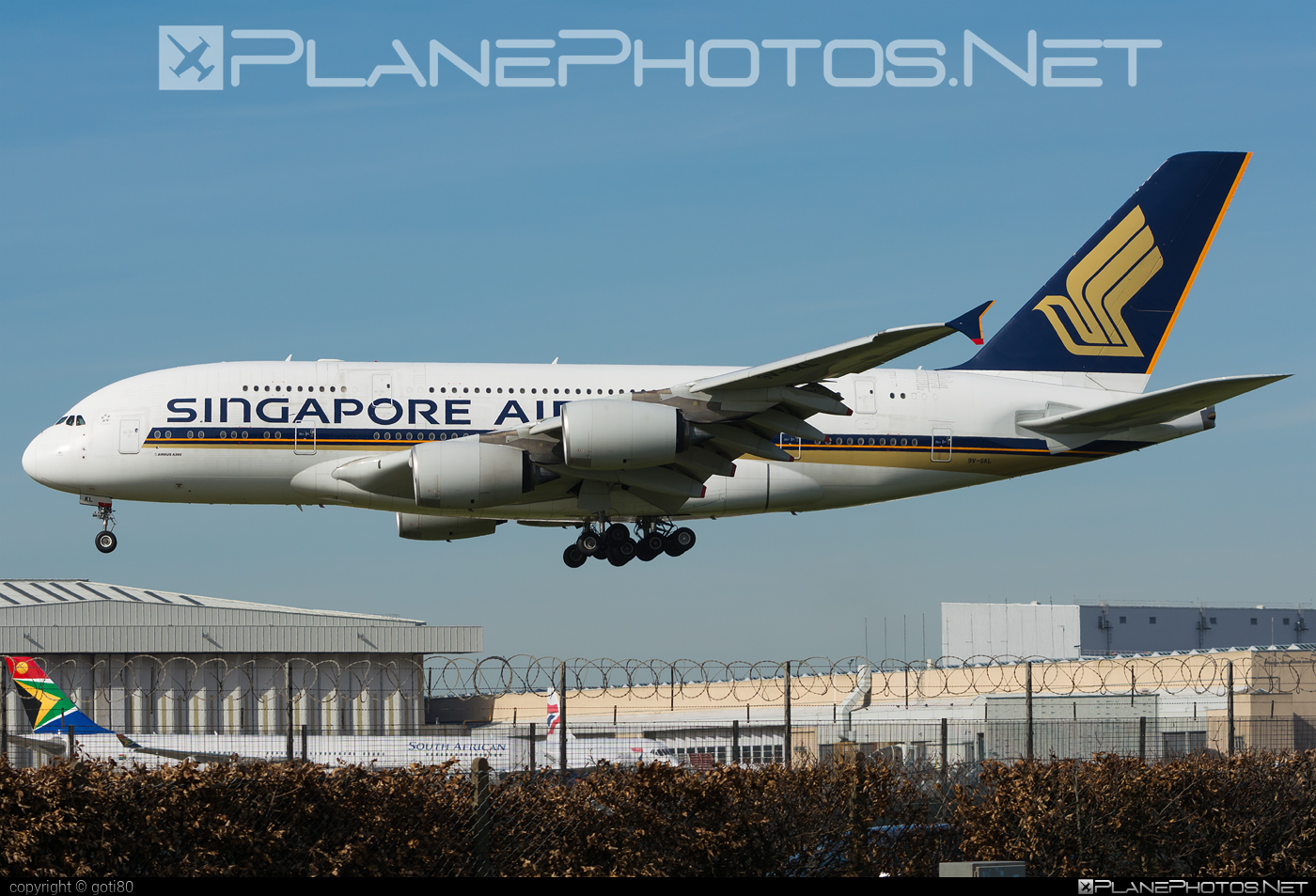 Airbus A380-841 - 9V-SKL operated by Singapore Airlines #a380 #a380family #airbus #airbus380 #singaporeairlines