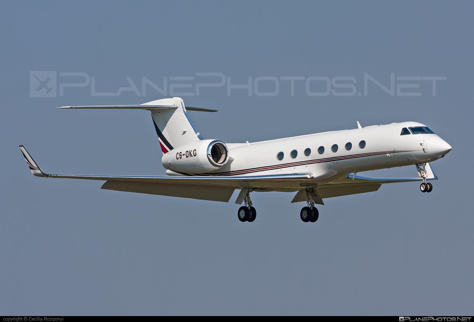 Gulfstream G550 - CS-DKG operated by NetJets Europe #gulfstream