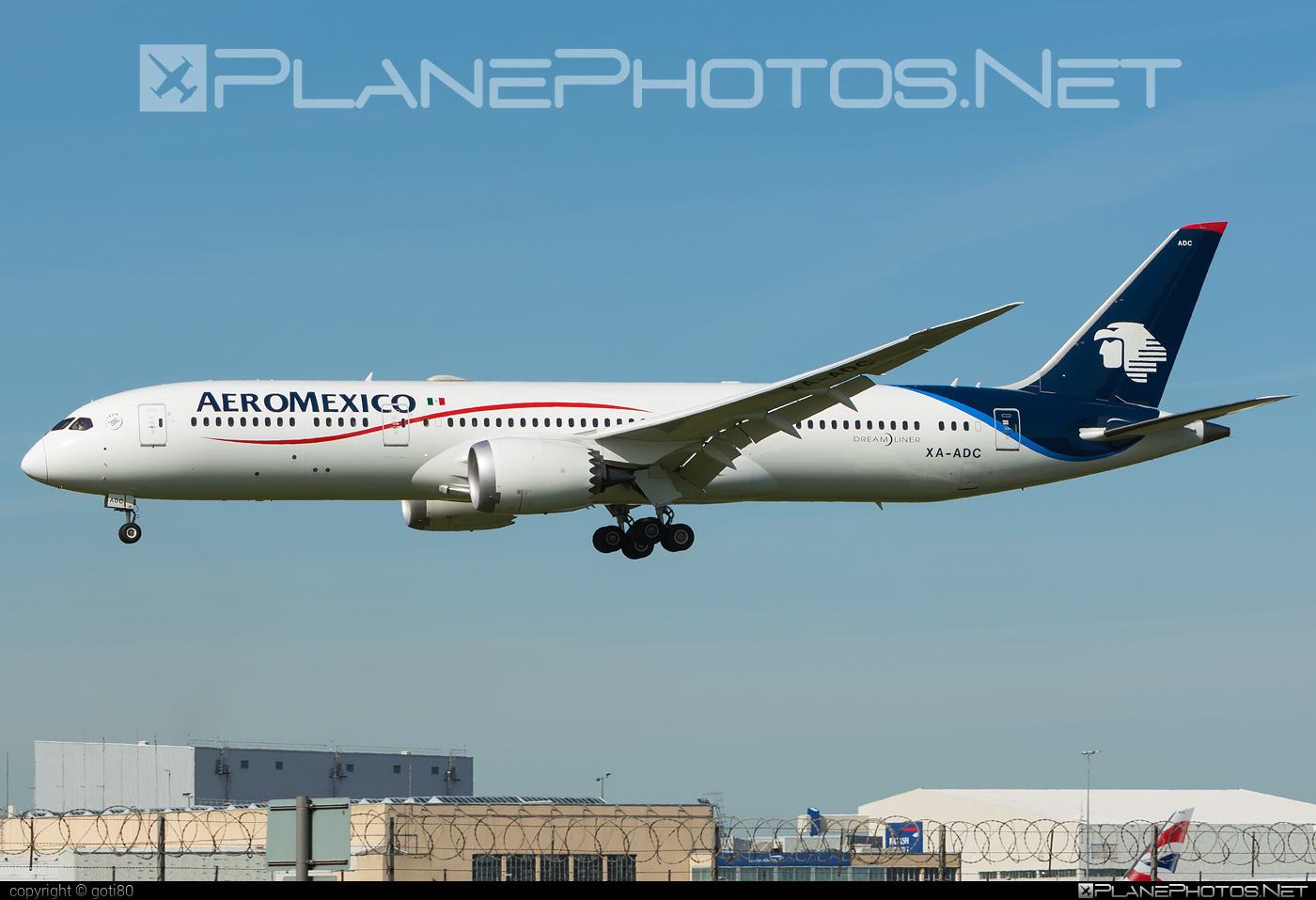 Boeing 787-9 Dreamliner - XA-ADC operated by Aeroméxico #b787 #boeing #boeing787 #dreamliner