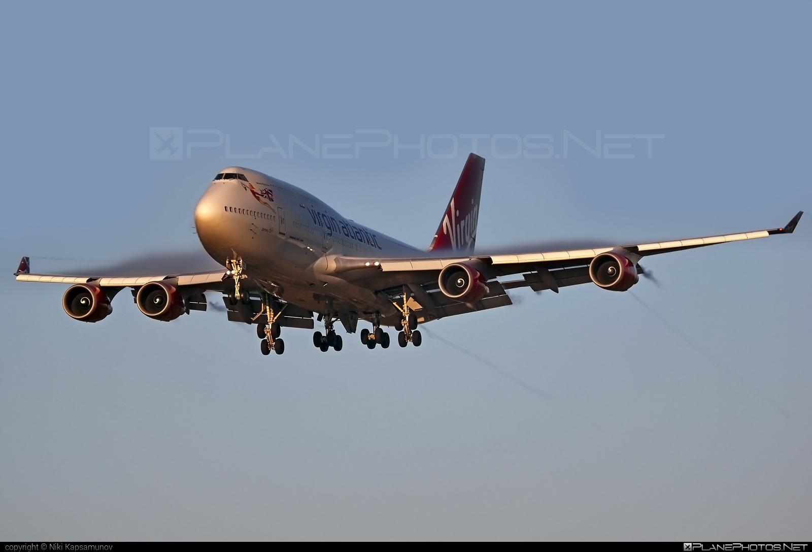 Boeing 747-400 - G-VGAL operated by Virgin Atlantic Airways #b747 #boeing #boeing747 #jumbo #virginatlantic #virginatlanticairways