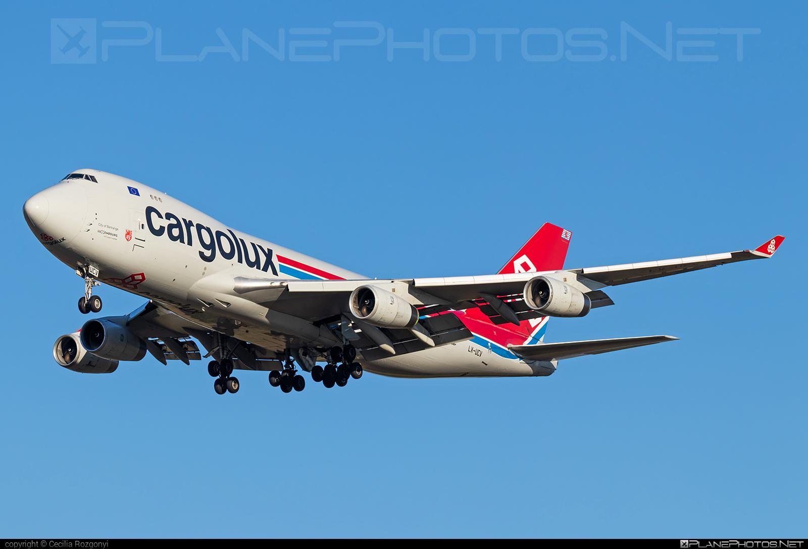 Boeing 747-400F - LX-UCV operated by Cargolux Airlines International #b747 #boeing #boeing747 #cargolux #jumbo