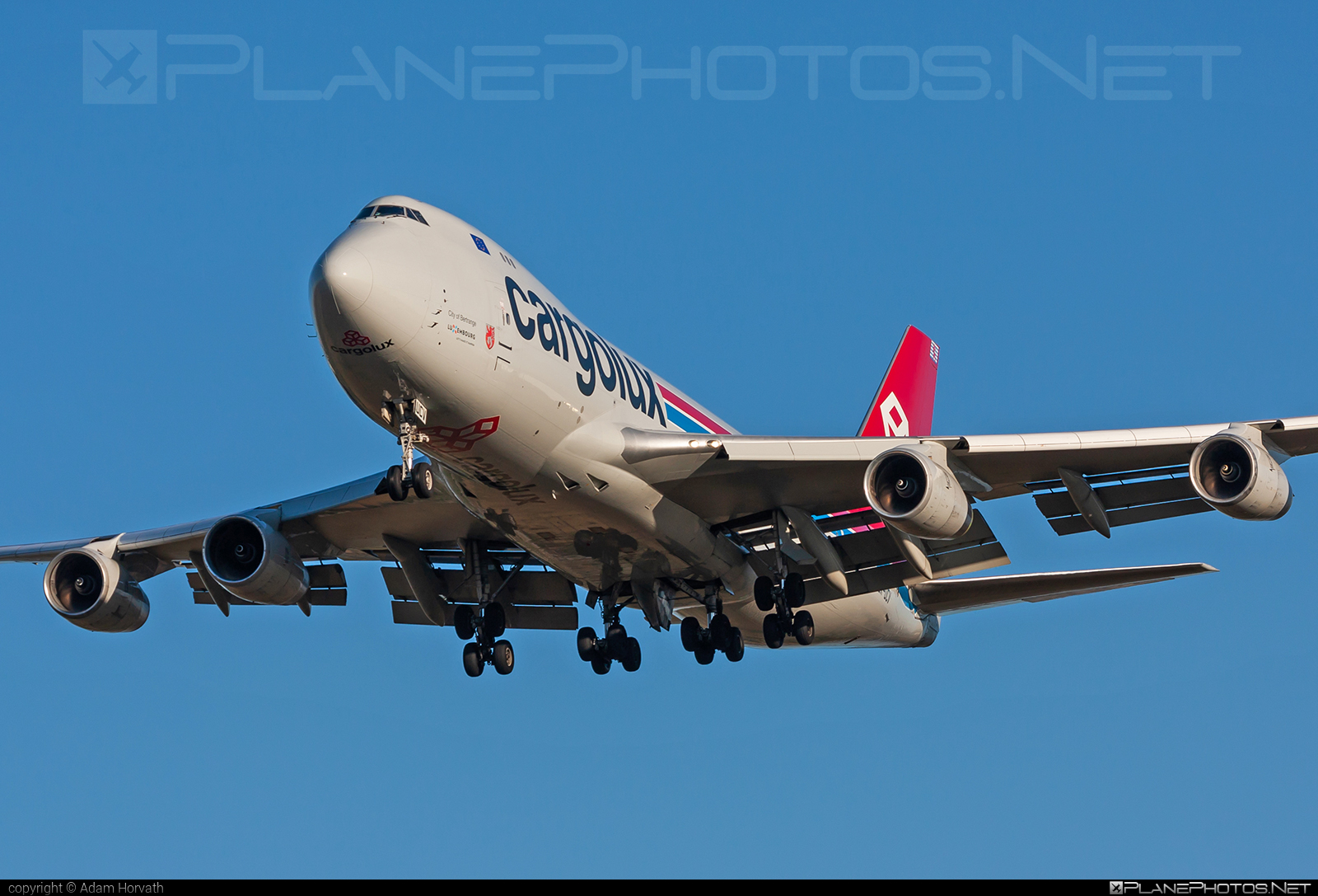 Boeing 747-400F - LX-UCV operated by Cargolux Airlines International #b747 #boeing #boeing747 #cargolux #jumbo