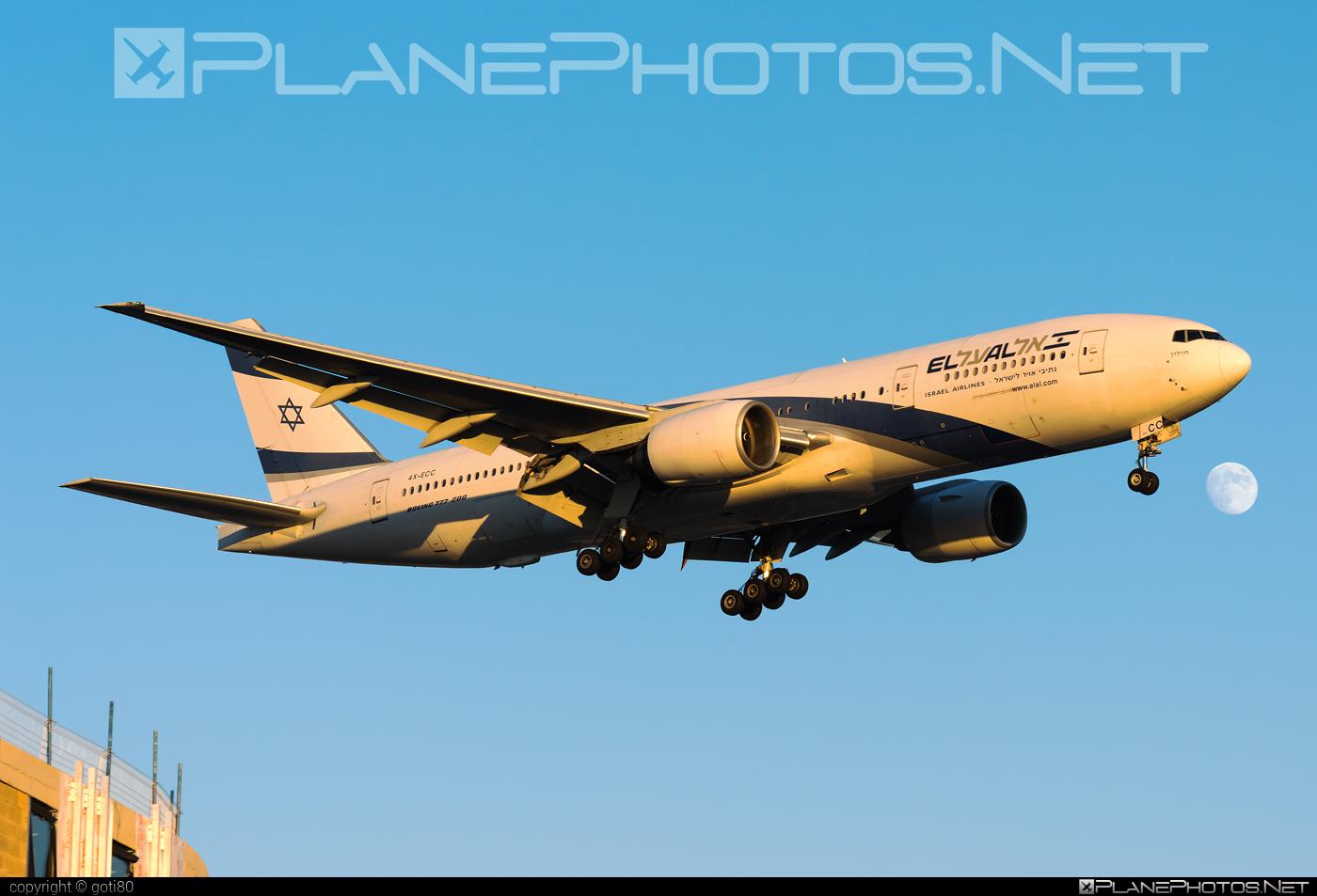Boeing 777-200ER - 4X-ECC operated by El Al Israel Airlines #b777 #b777er #boeing #boeing777 #elal #elalisraelairlines #israelairlines #tripleseven