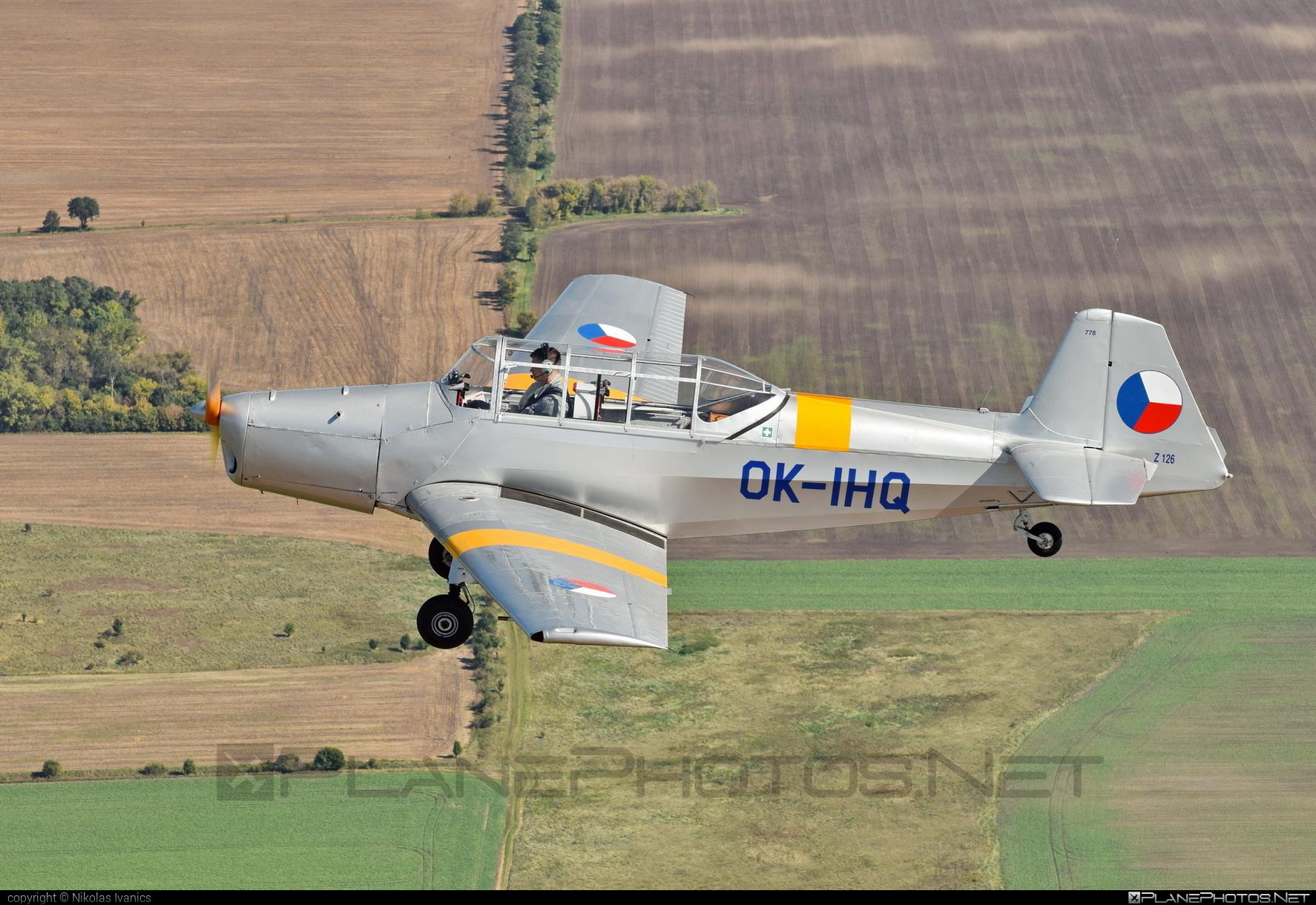 Zlin Z-126 Trenér - OK-IHQ operated by Private operator #z126 #z126trener #zlin #zlin126 #zlintrener