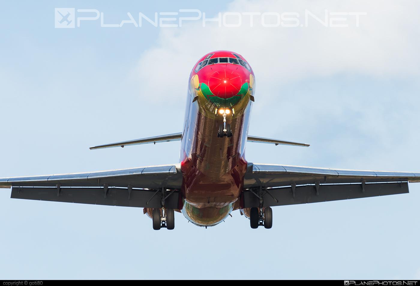 Danish Air Transport (DAT) McDonnell Douglas MD-83 - OY-RUE #mcdonnelldouglas #mcdonnelldouglas80 #mcdonnelldouglas83 #mcdonnelldouglasmd80 #mcdonnelldouglasmd83 #md80 #md83