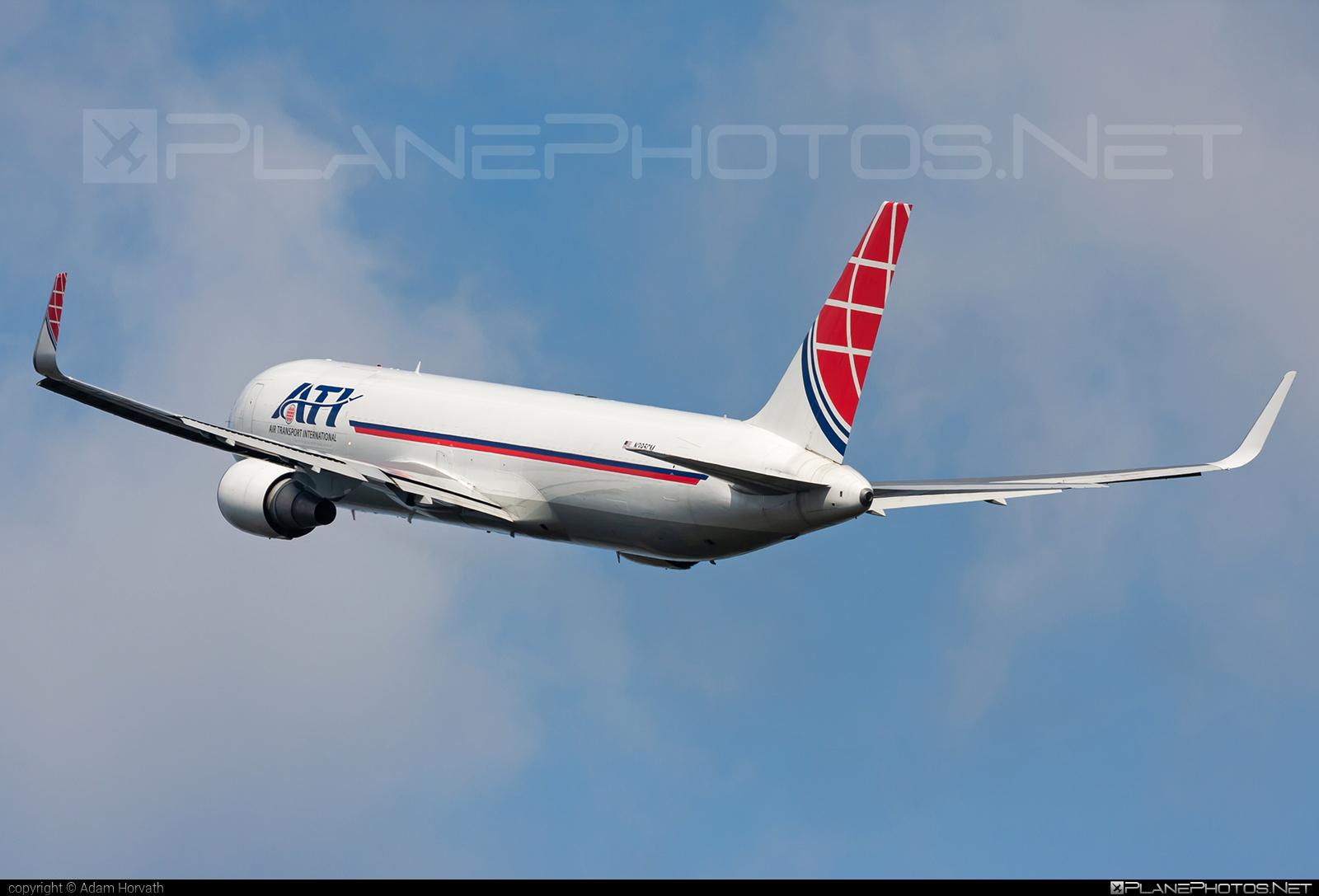 Boeing 767-300BDSF - N395CM operated by Air Transport International (ATI) #b767 #b767300bdsf #b767bdsf #bedekspecialfreighter #boeing #boeing767