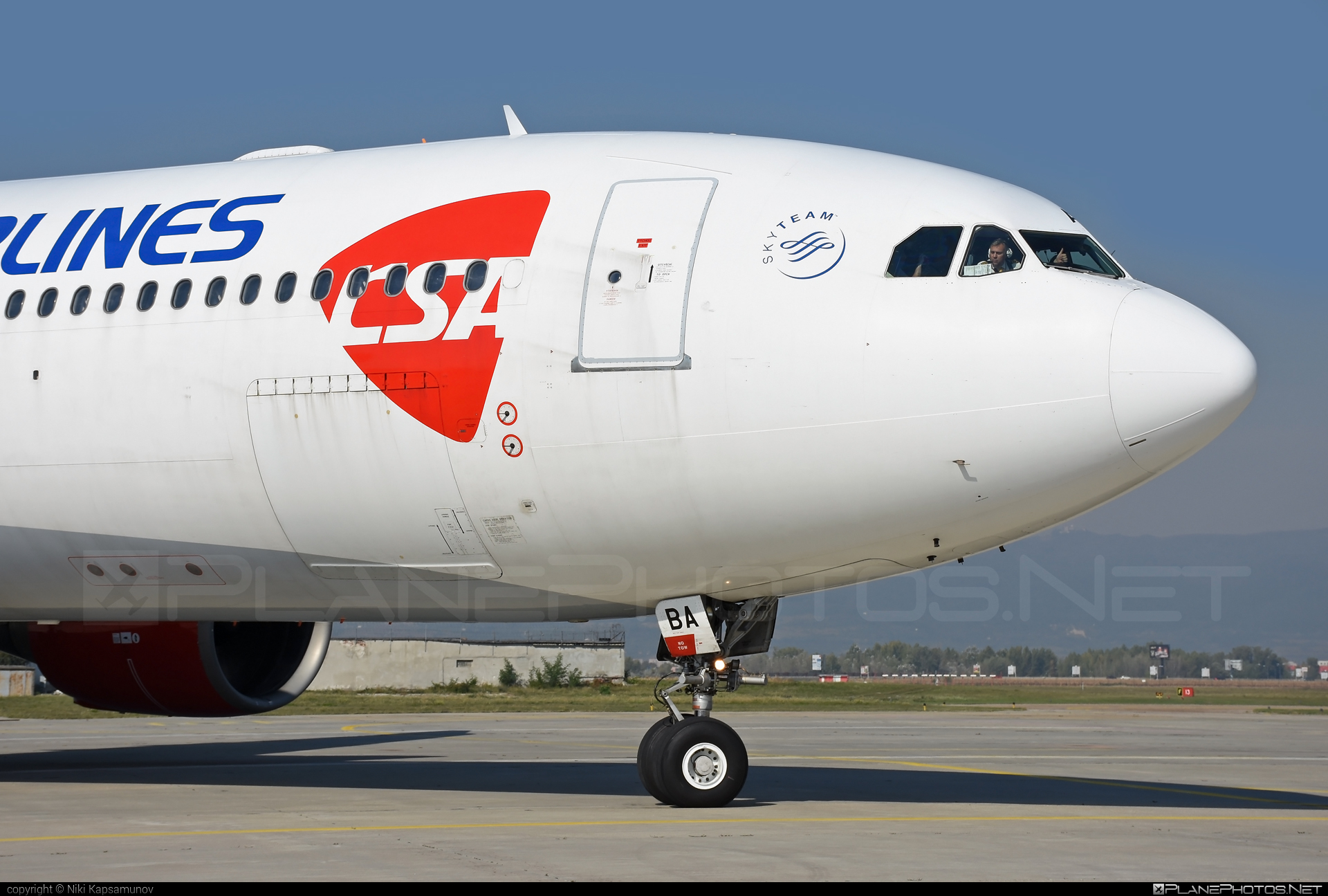 Airbus A330-323X - OK-YBA operated by CSA Czech Airlines #a330 #a330family #airbus #airbus330 #csa #czechairlines