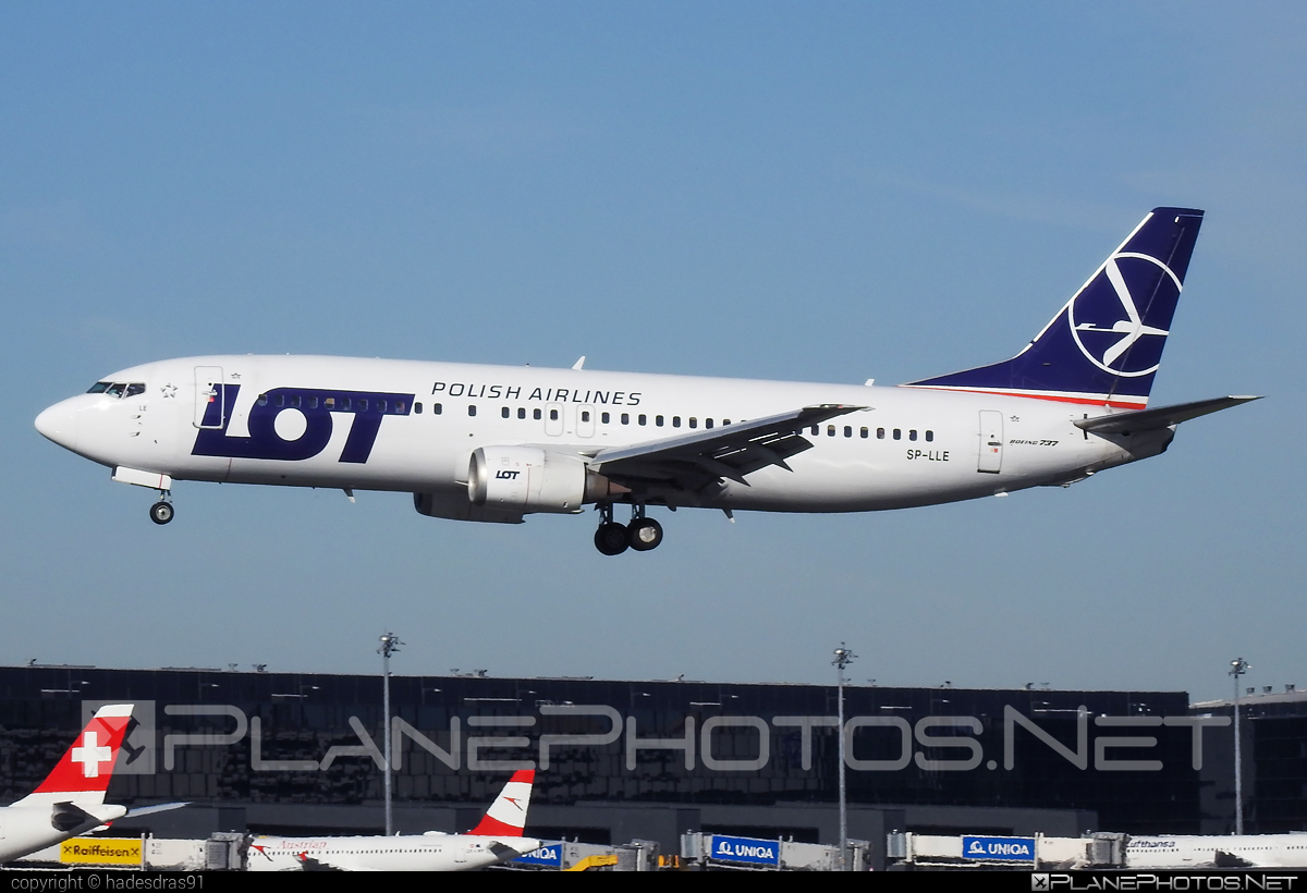 Boeing 737-400 - SP-LLE operated by LOT Polish Airlines #b737 #boeing #boeing737 #lot #lotpolishairlines