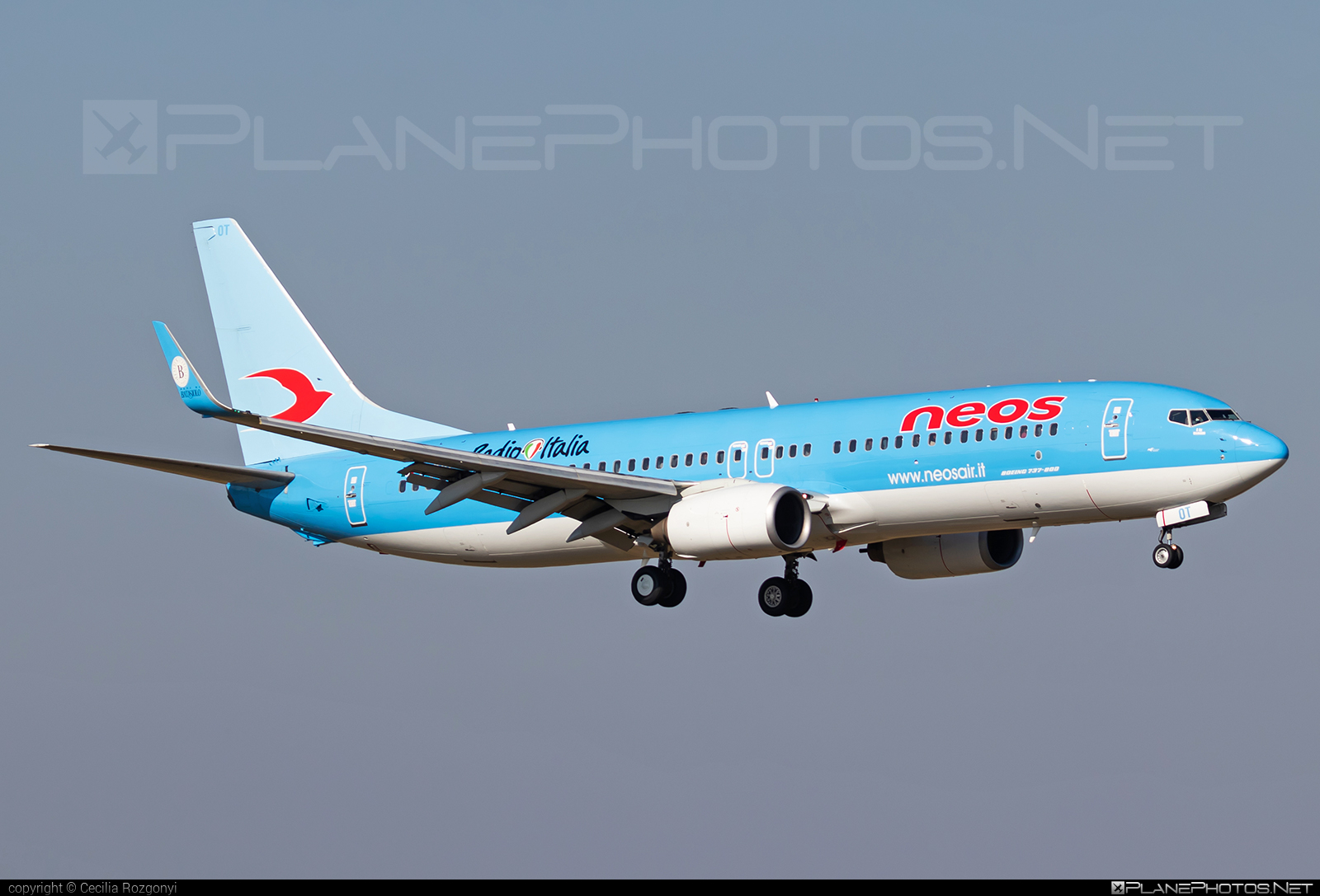 Boeing 737-800 - I-NEOT operated by Neos #b737 #b737nextgen #b737ng #boeing #boeing737