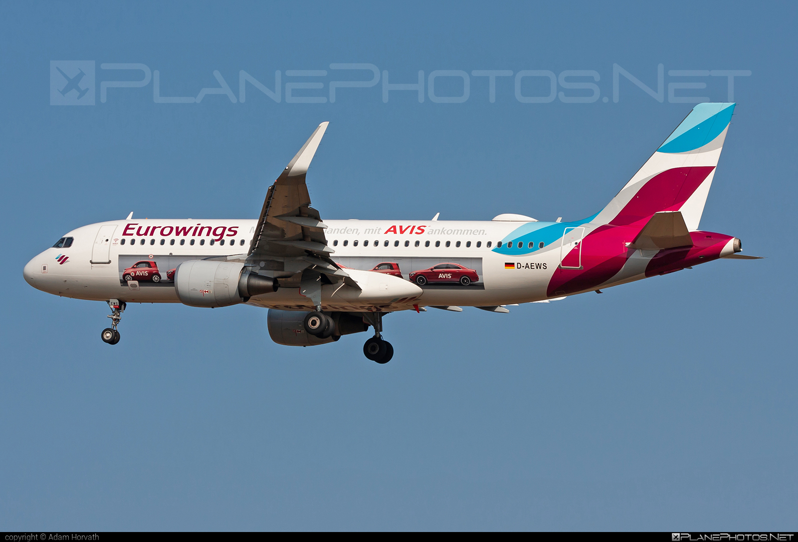 Airbus A320-214 - D-AEWS operated by Eurowings #a320 #a320family #airbus #airbus320 #eurowings