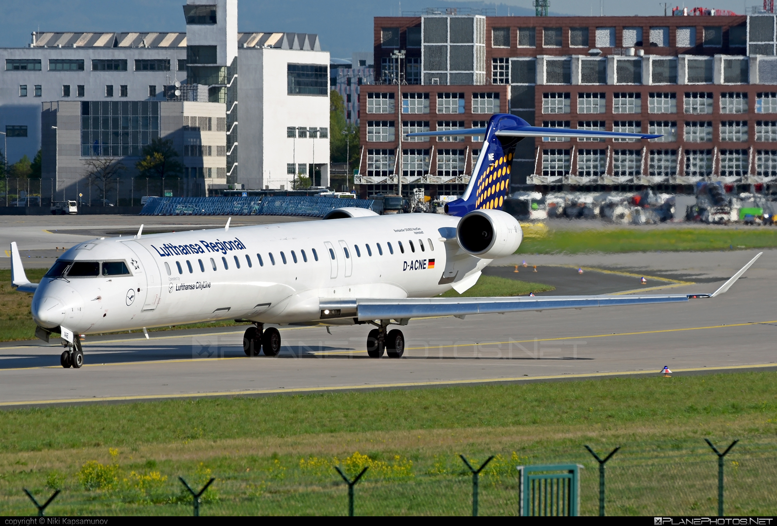 Bombardier CRJ900 - D-ACNE operated by Lufthansa CityLine #bombardier #crj900 #lufthansa #lufthansacityline