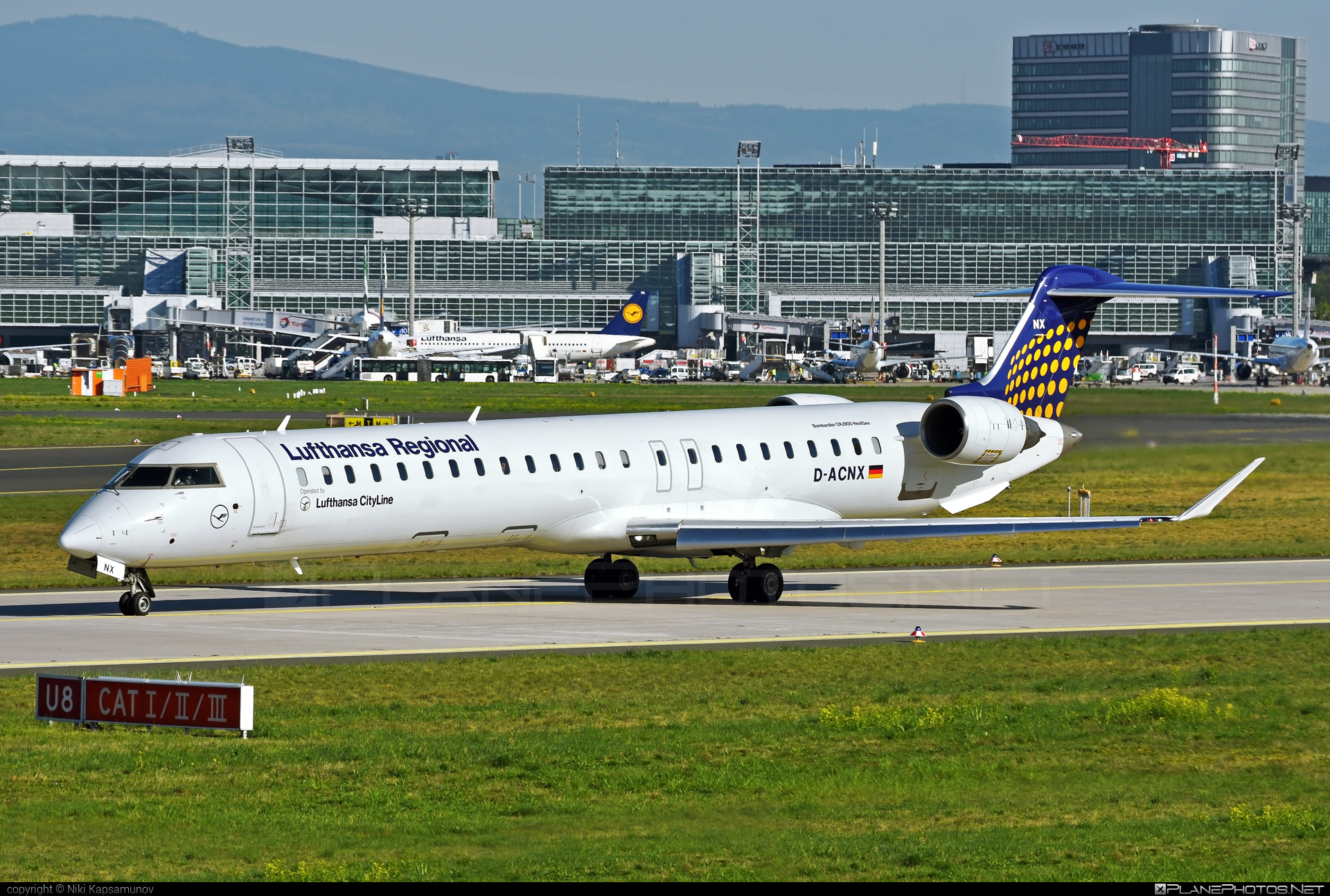 Bombardier CRJ900LR - D-ACNX operated by Lufthansa CityLine #bombardier #crj900 #crj900lr #lufthansa #lufthansacityline