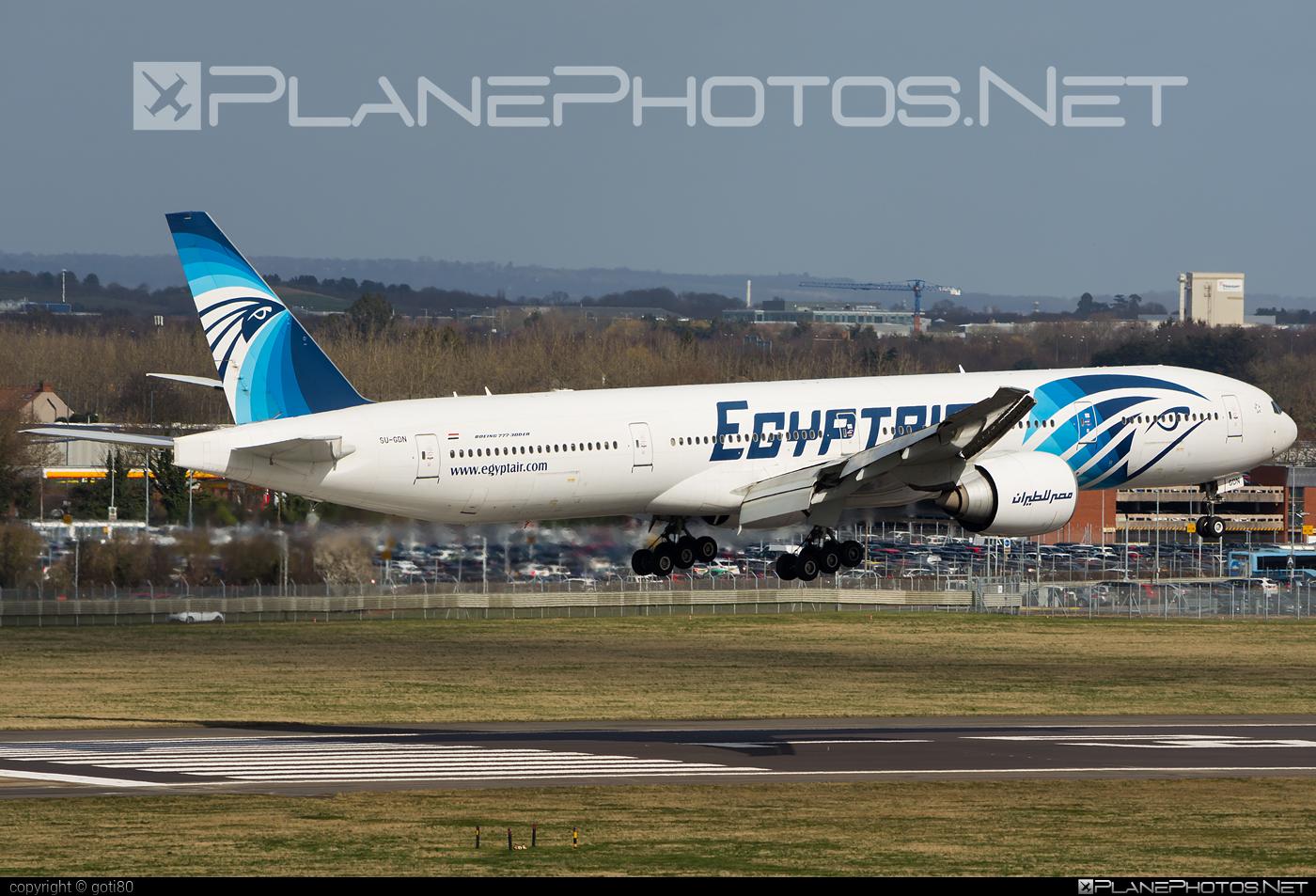 Boeing 777-300ER - SU-GDN operated by EgyptAir #b777 #b777er #boeing #boeing777 #tripleseven