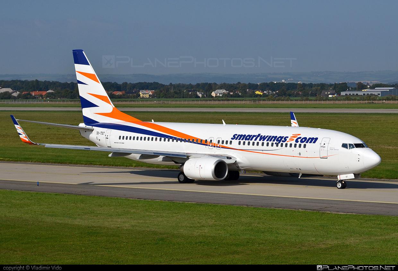 Boeing 737-800 - OK-TST operated by Smart Wings #b737 #b737nextgen #b737ng #boeing #boeing737 #smartwings