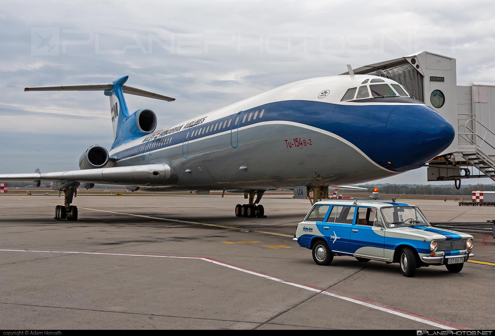 Tupolev Tu-154B-2 - HA-LCA operated by Malev Hungarian Airlines #tu154 #tu154b2 #tupolev