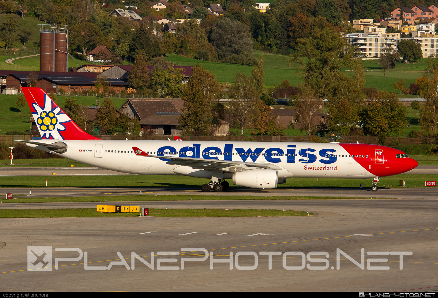 Airbus A330-343E - HB-JHQ operated by Edelweiss Air #a330 #a330e #a330family #airbus #airbus330