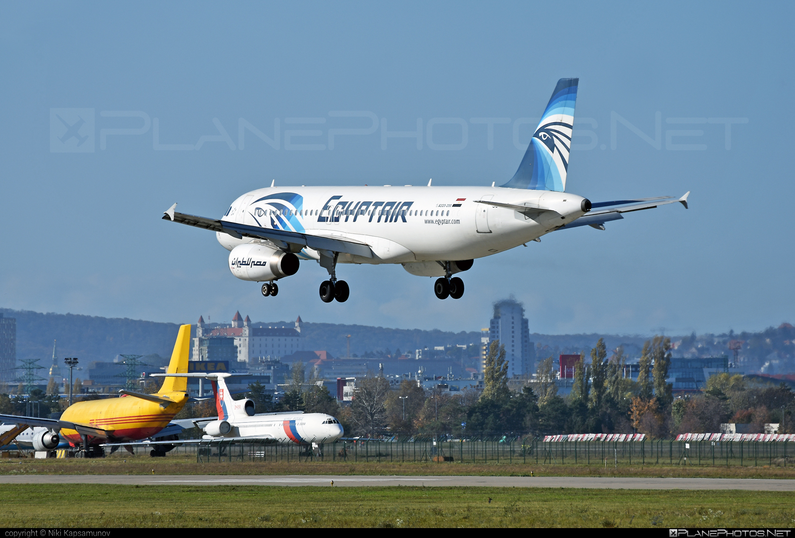 Airbus A320-232 - SU-GCD operated by EgyptAir #a320 #a320family #airbus #airbus320