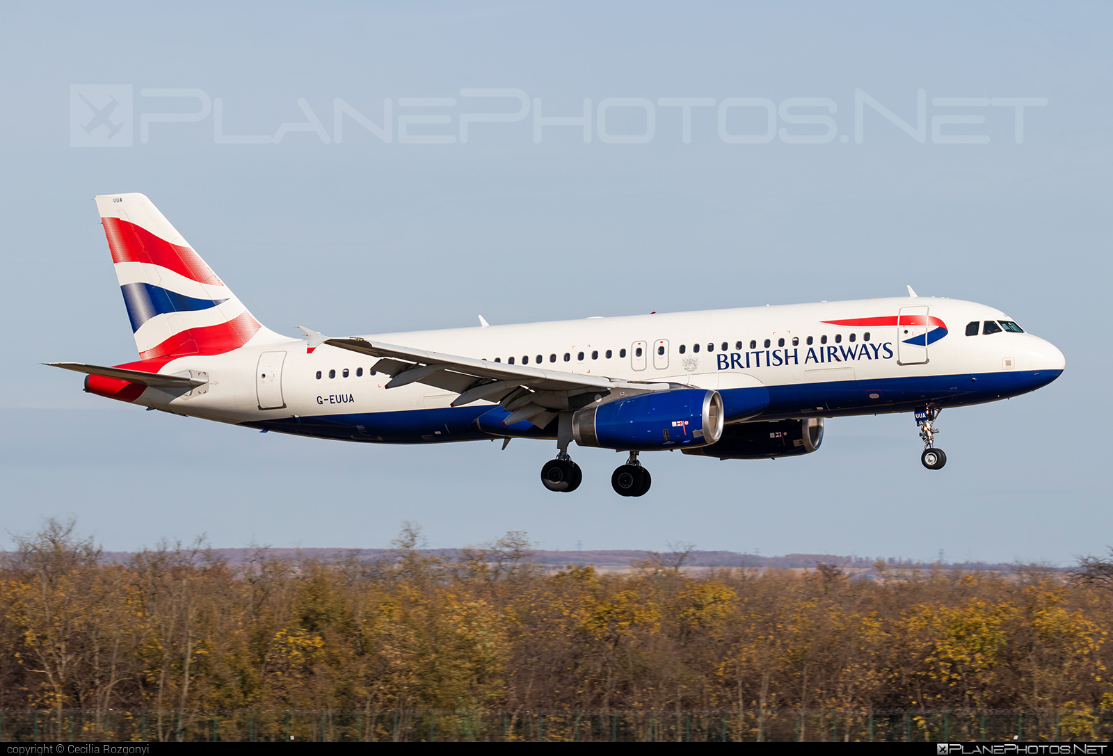 Airbus A320-232 - G-EUUA operated by British Airways #a320 #a320family #airbus #airbus320 #britishairways