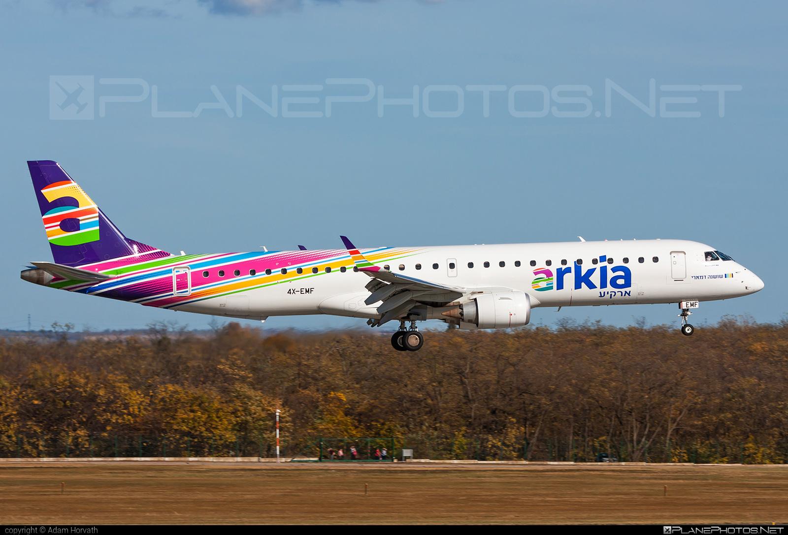 Embraer E195IGW (ERJ-190-200IGW) - 4X-EMF operated by Arkia Israeli Airlines #e190 #e190200 #e190200igw #e195igw #embraer #embraer190200igw #embraer195 #embraer195igw