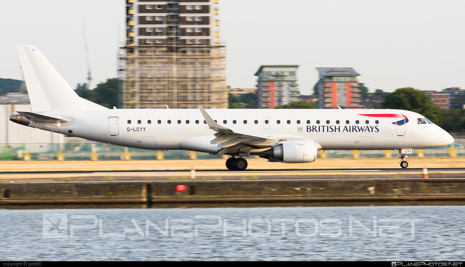 Embraer E190SR (ERJ-190-100SR) - G-LCYY operated by BA CityFlyer #e190 #e190100 #e190100sr #e190sr #embraer #embraer190 #embraer190100sr #embraer190sr