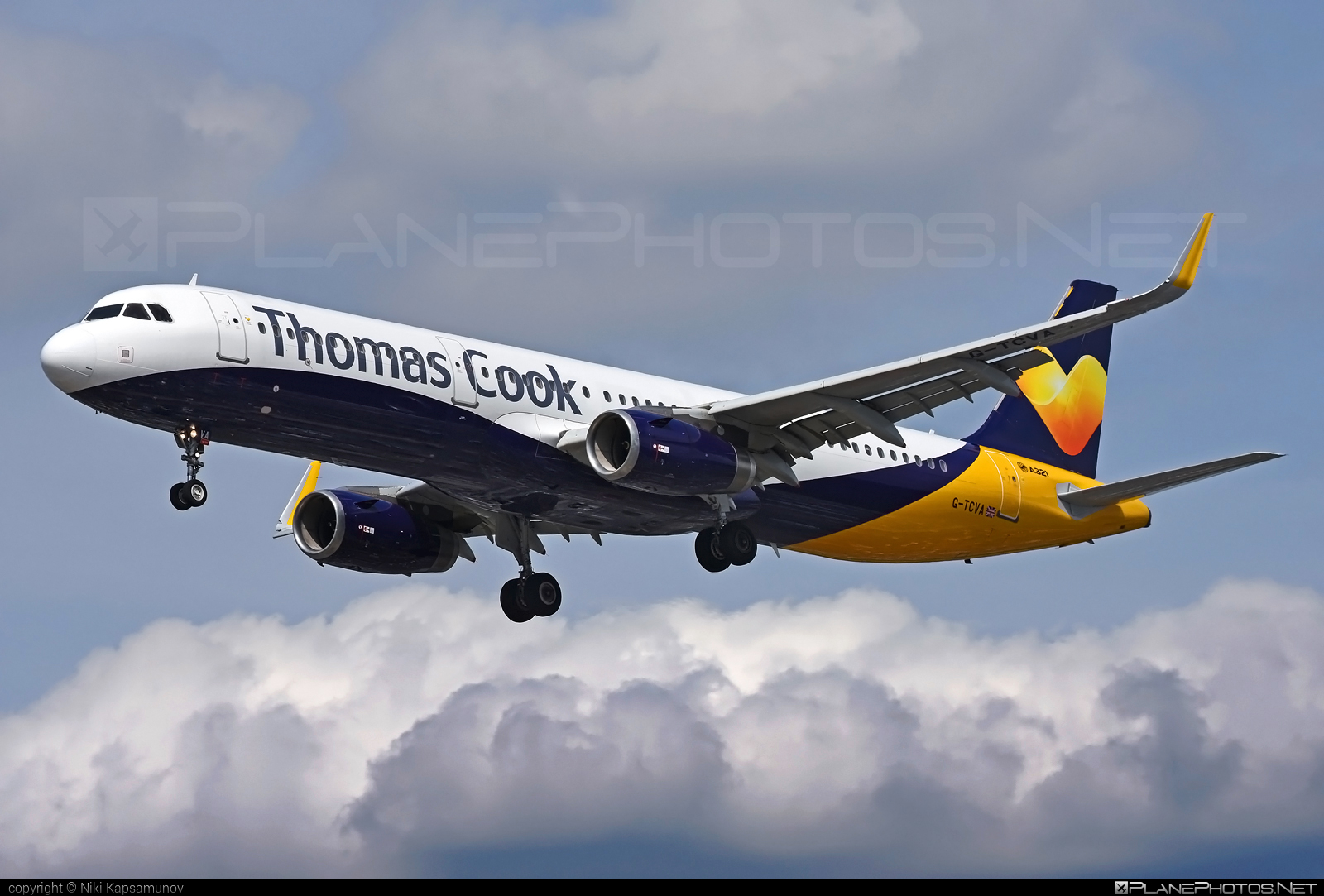 Airbus A321-231 - G-TCVA operated by Thomas Cook Airlines #a320family #a321 #airbus #airbus321