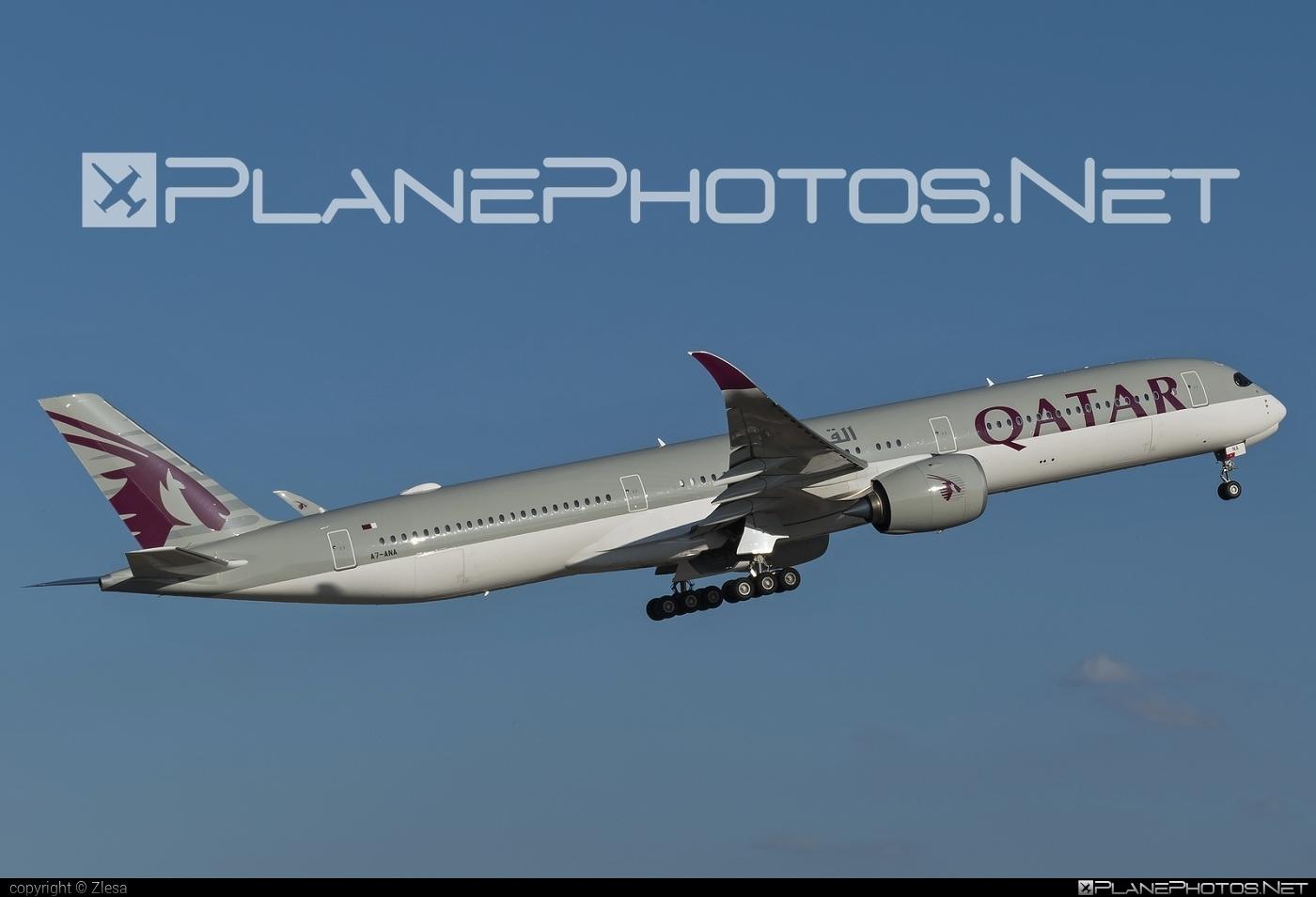 Airbus A350-1041 - A7-ANA operated by Qatar Airways #a350 #a350family #airbus #airbus350 #qatarairways #xwb