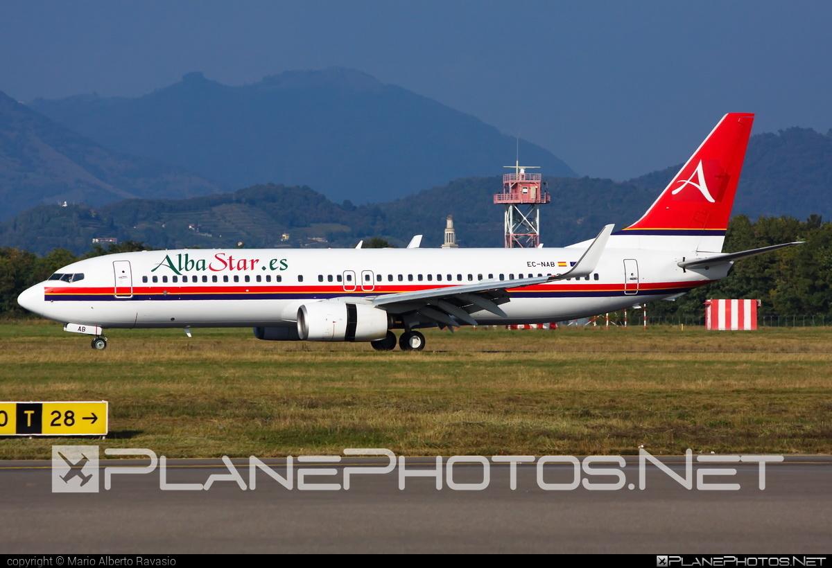 Boeing 737-800 - EC-NAB operated by Albastar #b737 #b737nextgen #b737ng #boeing #boeing737