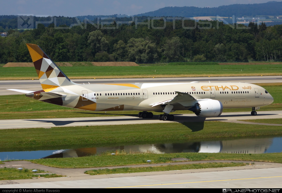 Boeing 787-9 Dreamliner - A6-BLN operated by Etihad Airways #b787 #boeing #boeing787 #dreamliner #etihad #etihadairways