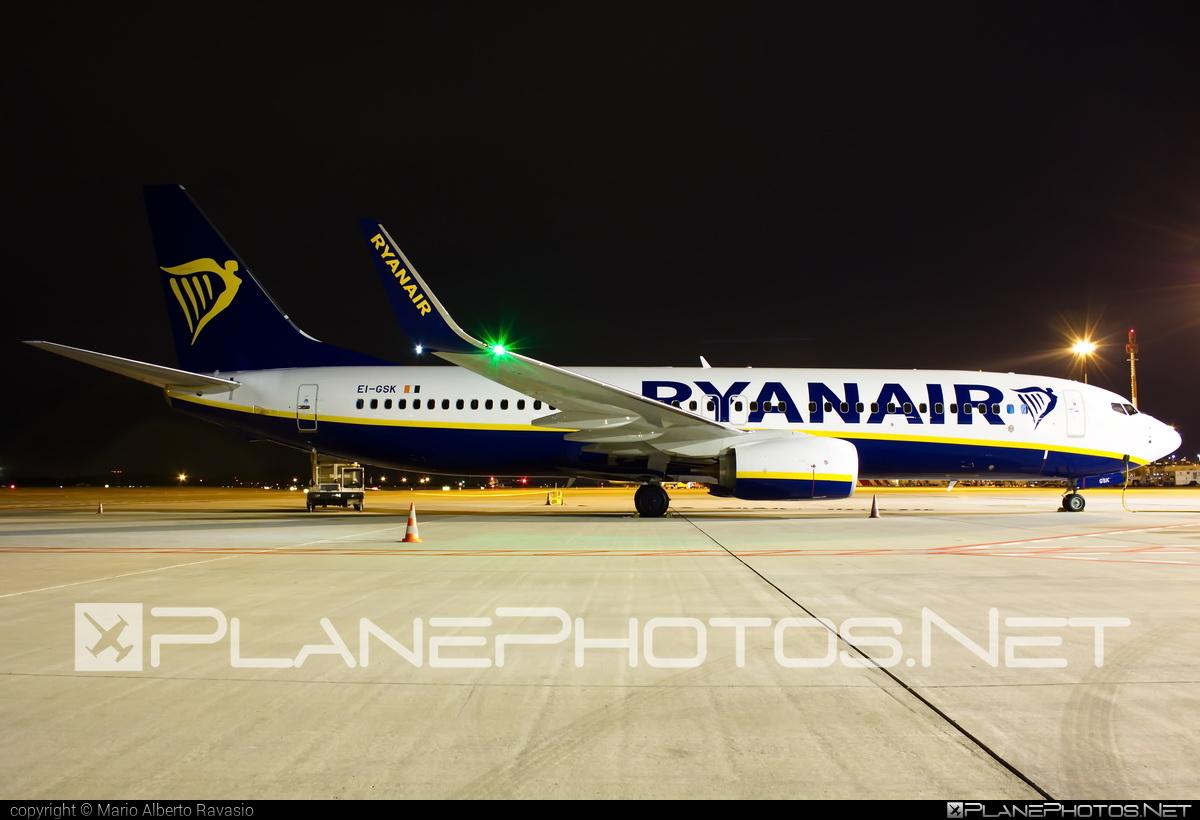 Boeing 737-800 - EI-GSK operated by Ryanair #b737 #b737nextgen #b737ng #boeing #boeing737 #ryanair