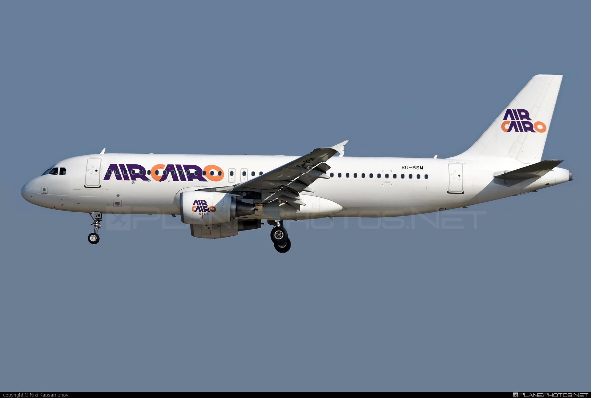 Airbus A320-214 - SU-BSM operated by Air Cairo #a320 #a320family #airbus #airbus320 #aircairo
