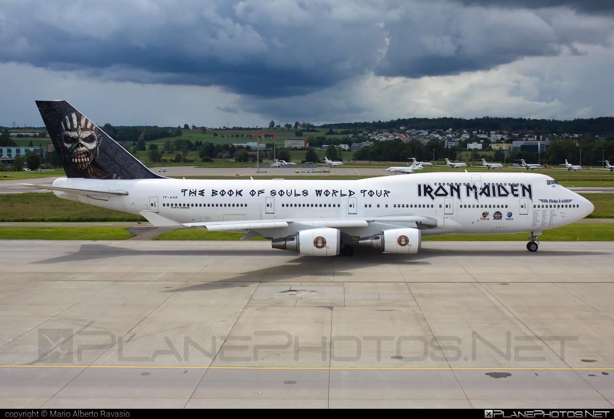 Boeing 747-400 - TF-AAK operated by Air Atlanta Icelandic #b747 #boeing #boeing747 #edforceone #ironmaiden #jumbo
