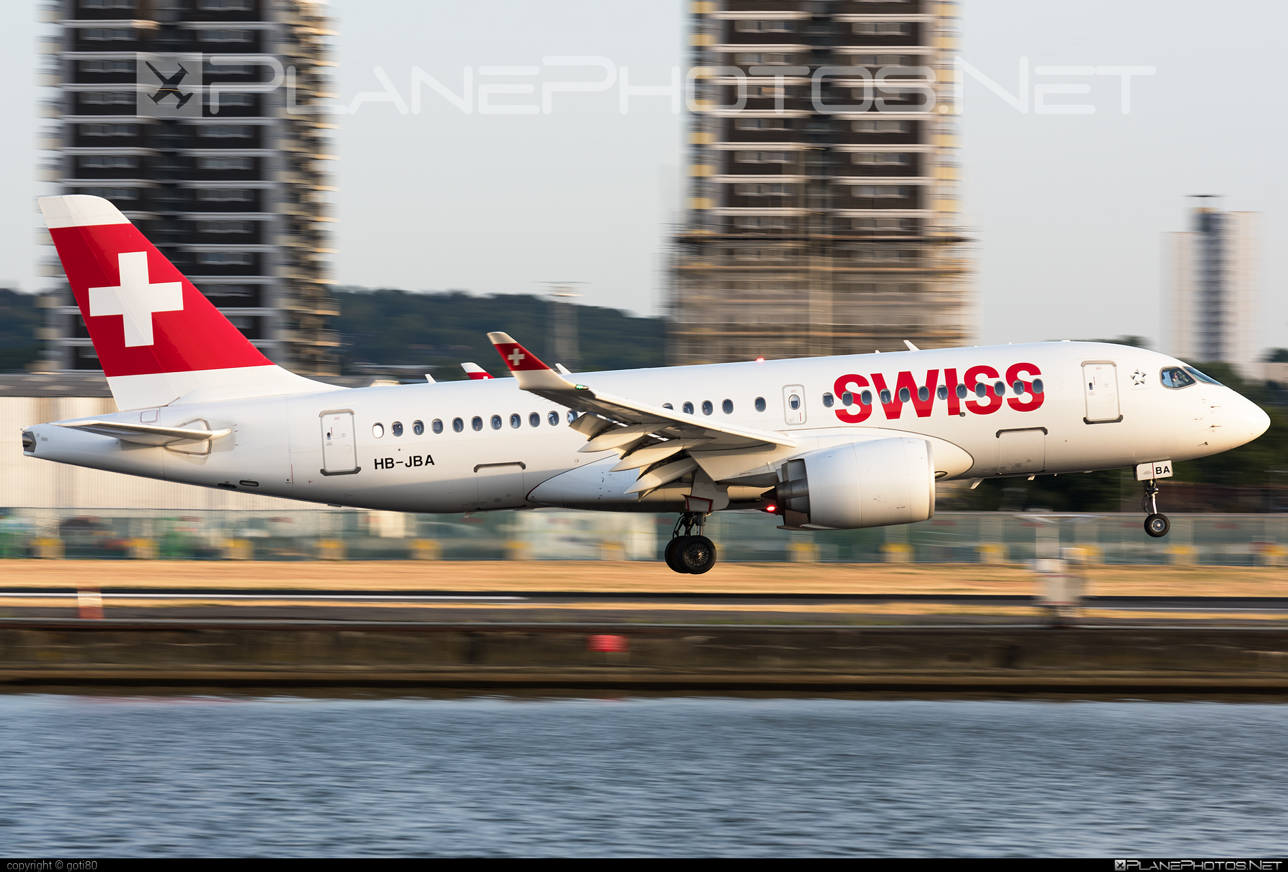 Swiss International Air Lines Bombardier BD-500-1A10 C Series CS100 - HB-JBA #bombardier #cs100 #cseries #cseries100 #swiss #swissairlines