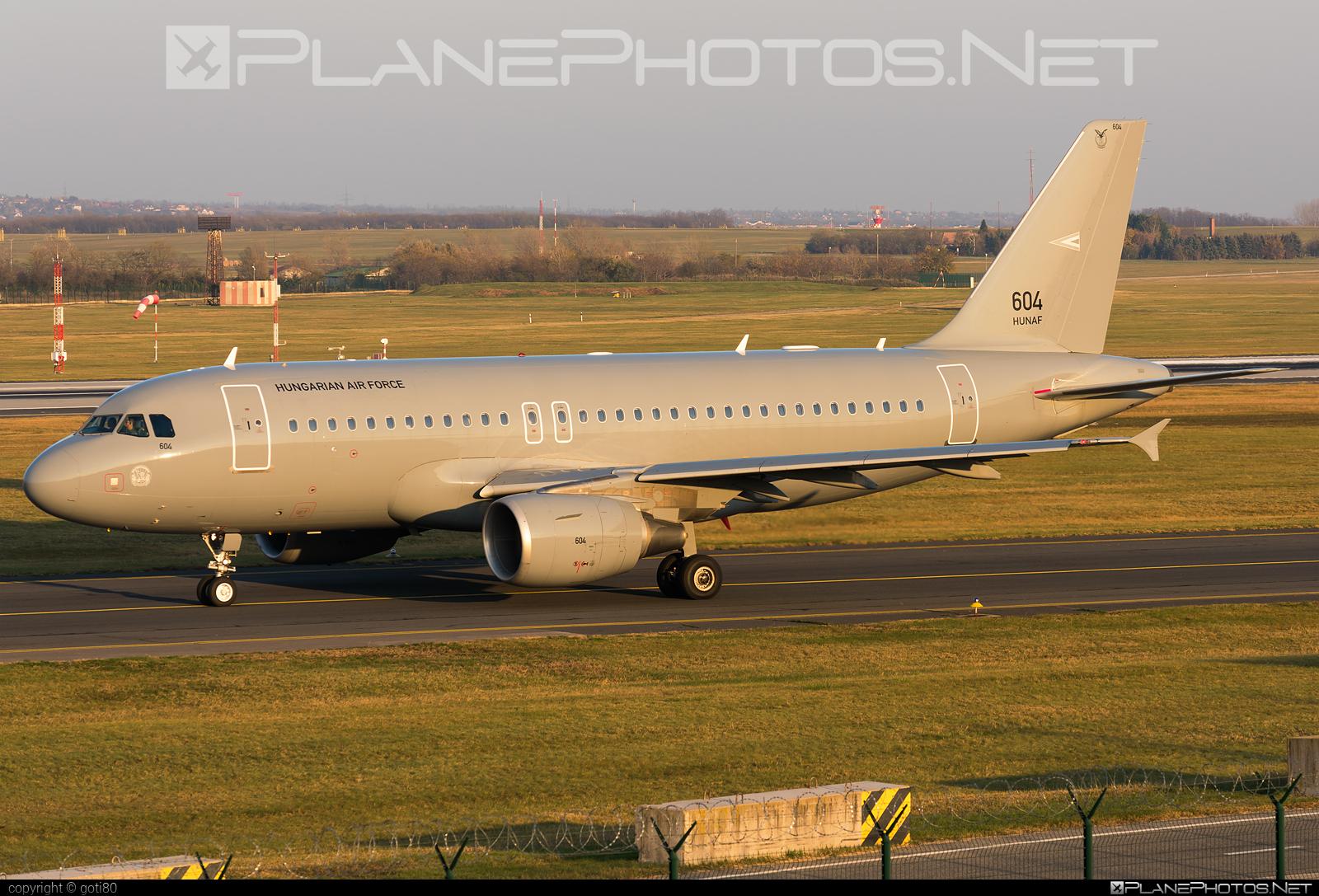 Magyar Légierő (Hungarian Air Force) Airbus A319-112 - 604 #a319 #a320family #airbus #airbus319 #hungarianairforce #magyarlegiero