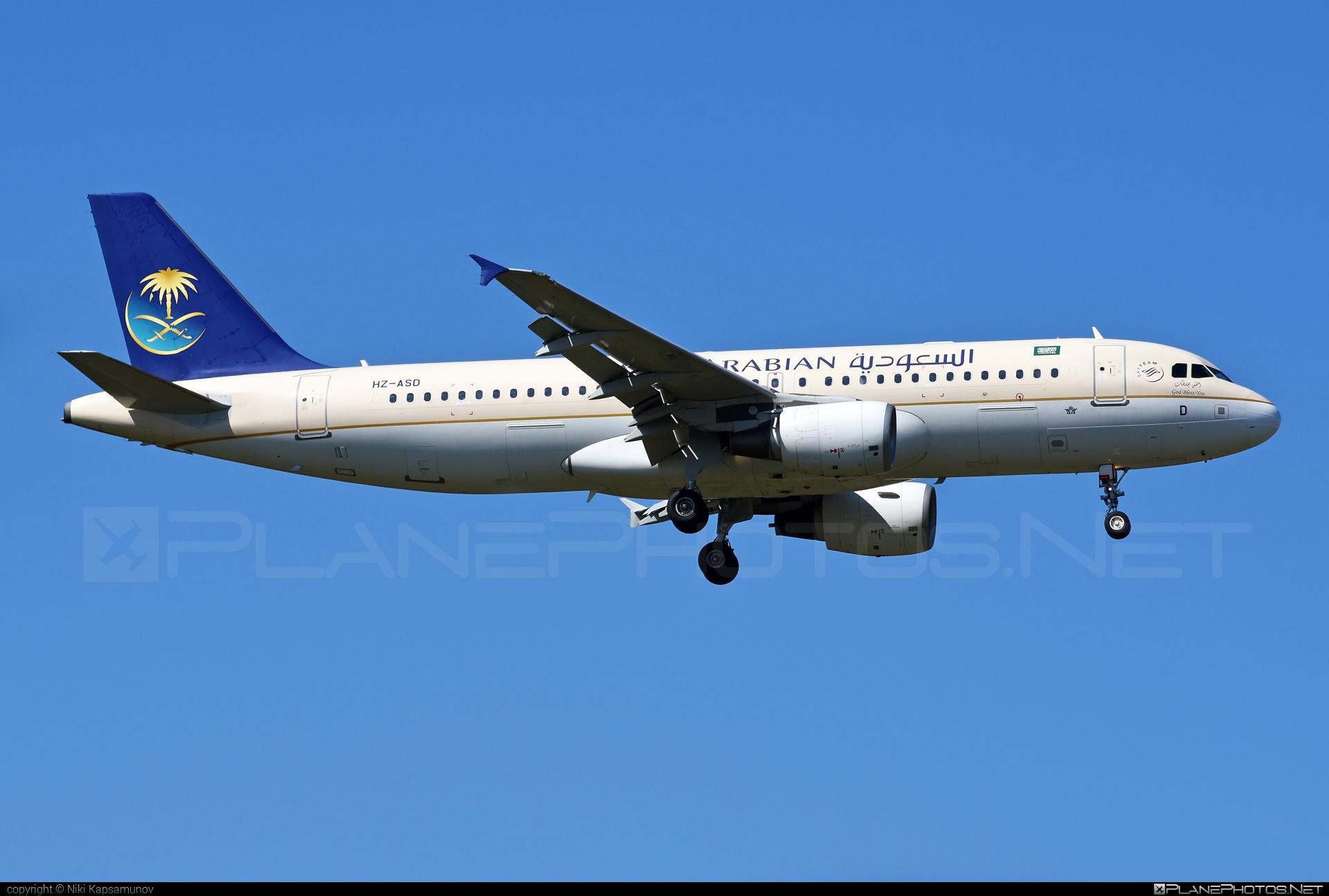 Saudi Arabian Airlines Airbus A320-214 - HZ-ASD #a320 #a320family #airbus #airbus320