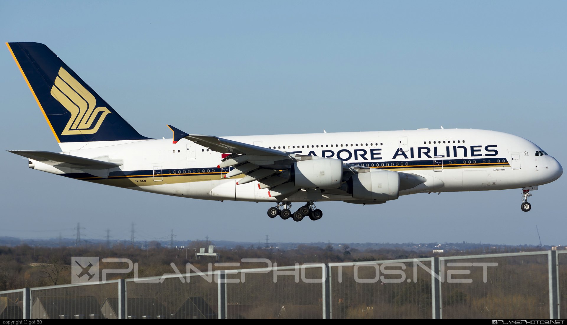 Airbus A380-841 - 9V-SKN operated by Singapore Airlines #a380 #a380family #airbus #airbus380 #singaporeairlines