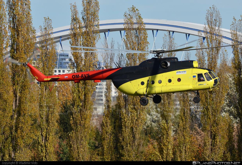 UTair Aviation Mil Mi-8T - OM-AVS #mil #milhelicopters #utair #utairaviation