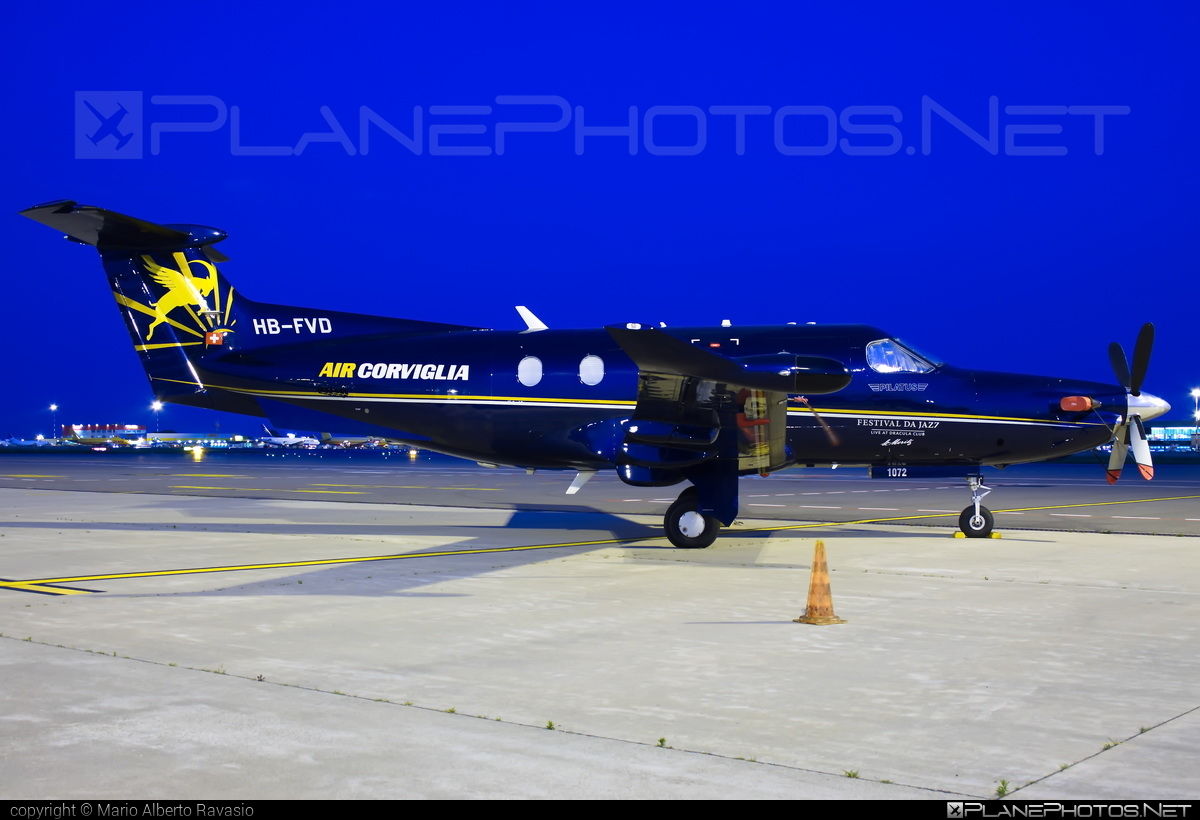 Pilatus PC-12/47E - HB-FVD operated by Air Corviglia #aircorviglia #pilatus