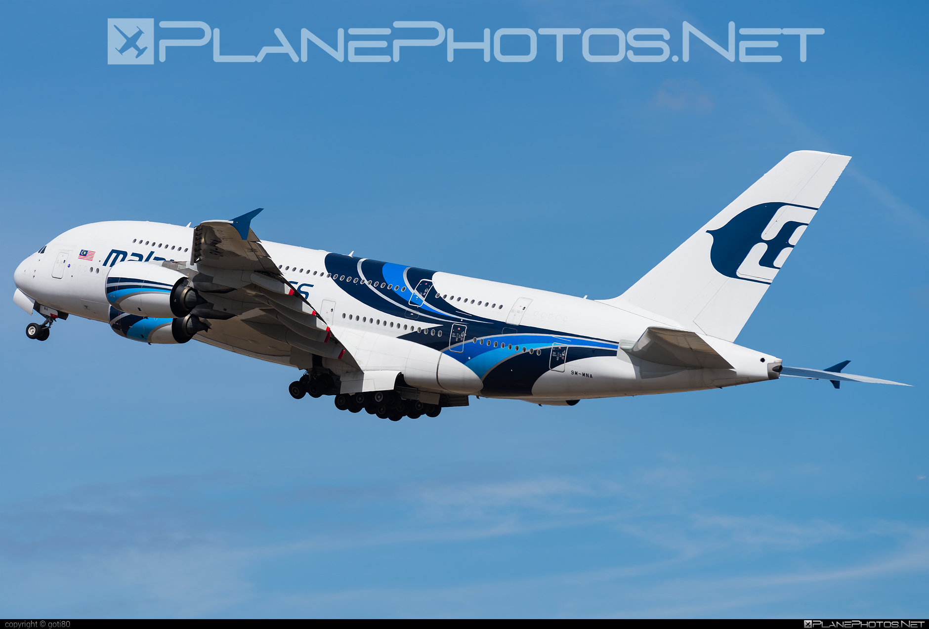 Airbus A380-841 - 9M-MNA operated by Malaysia Airlines #a380 #a380family #airbus #airbus380 #malaysiaairlines