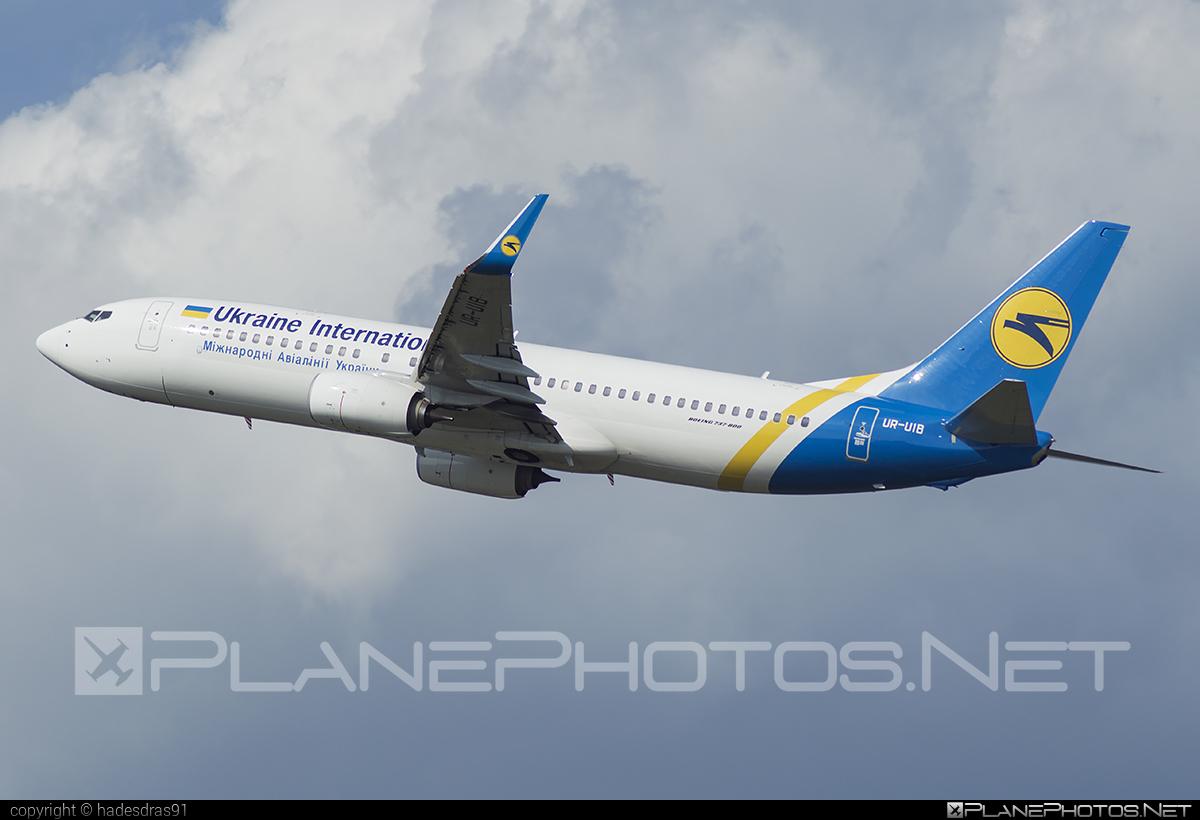Boeing 737-800 - UR-UIB operated by Ukraine International Airlines #b737 #b737nextgen #b737ng #boeing #boeing737 #uia #ukraineinternationalairlines