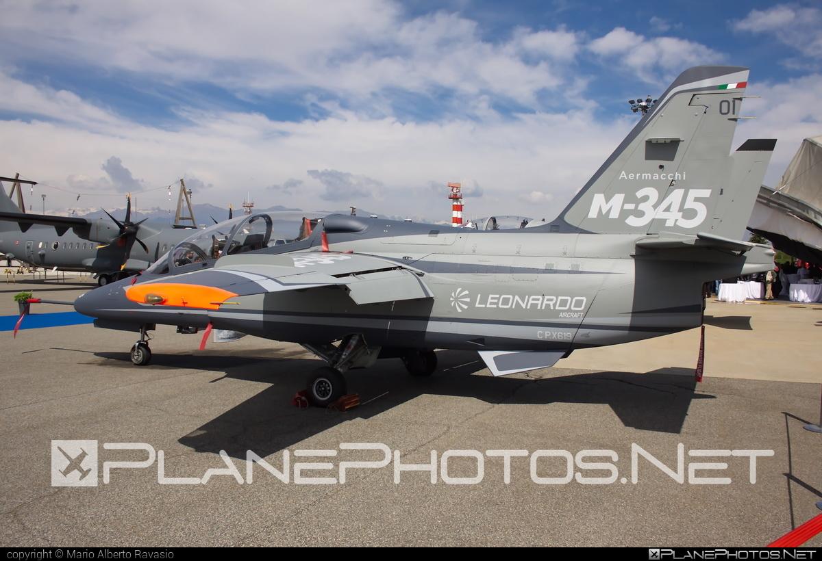 Aermacchi M-345 - CPX619 operated by Leonardo S.p.A. #aermacchi #aermacchi345 #aermacchim345 #leonardospa #m345
