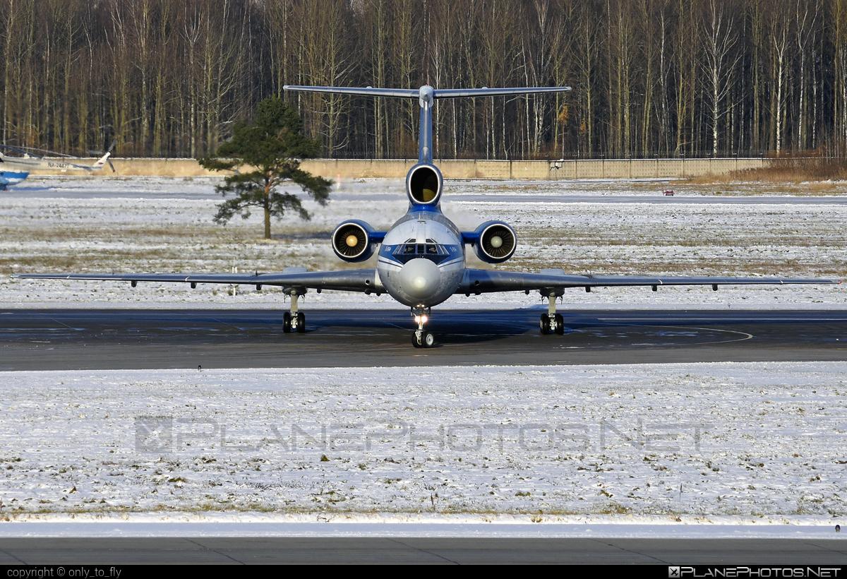 Tupolev Tu-154M - EW-85741 operated by Belavia Belarusian Airlines #belavia #tu154 #tu154m #tupolev
