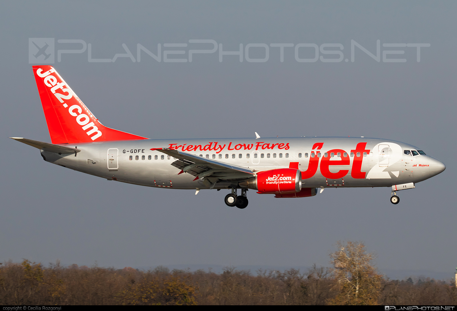 Boeing 737-300 - G-GDFE operated by Jet2 #b737 #boeing #boeing737 #jet2
