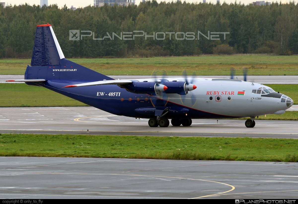 Antonov An-12BP - EW-485TI operated by RubyStar #an12 #an12bp #antonov #antonov12 #rubystar