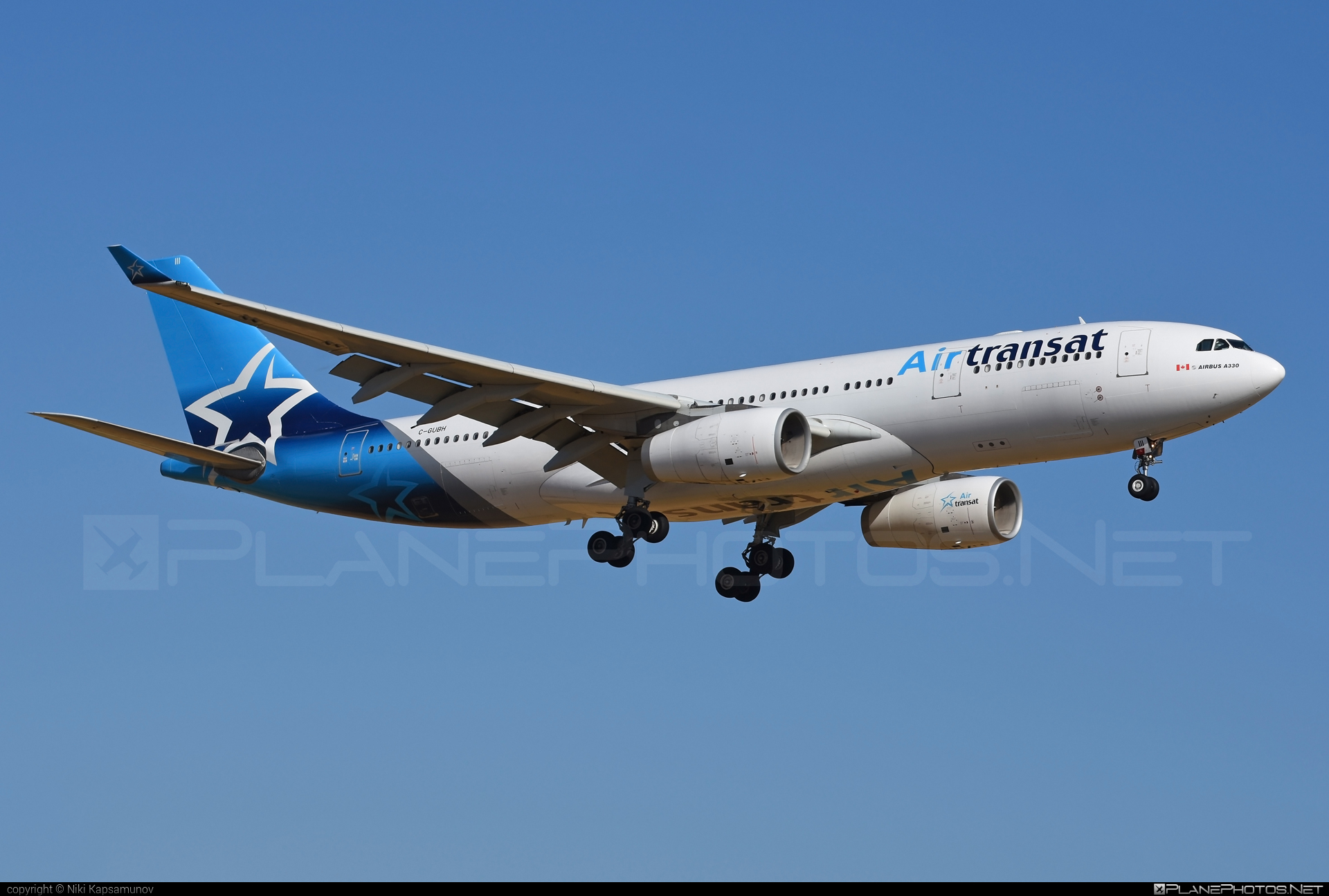 Airbus A330-243 - C-GUBH operated by Air Transat #a330 #a330family #airbus #airbus330