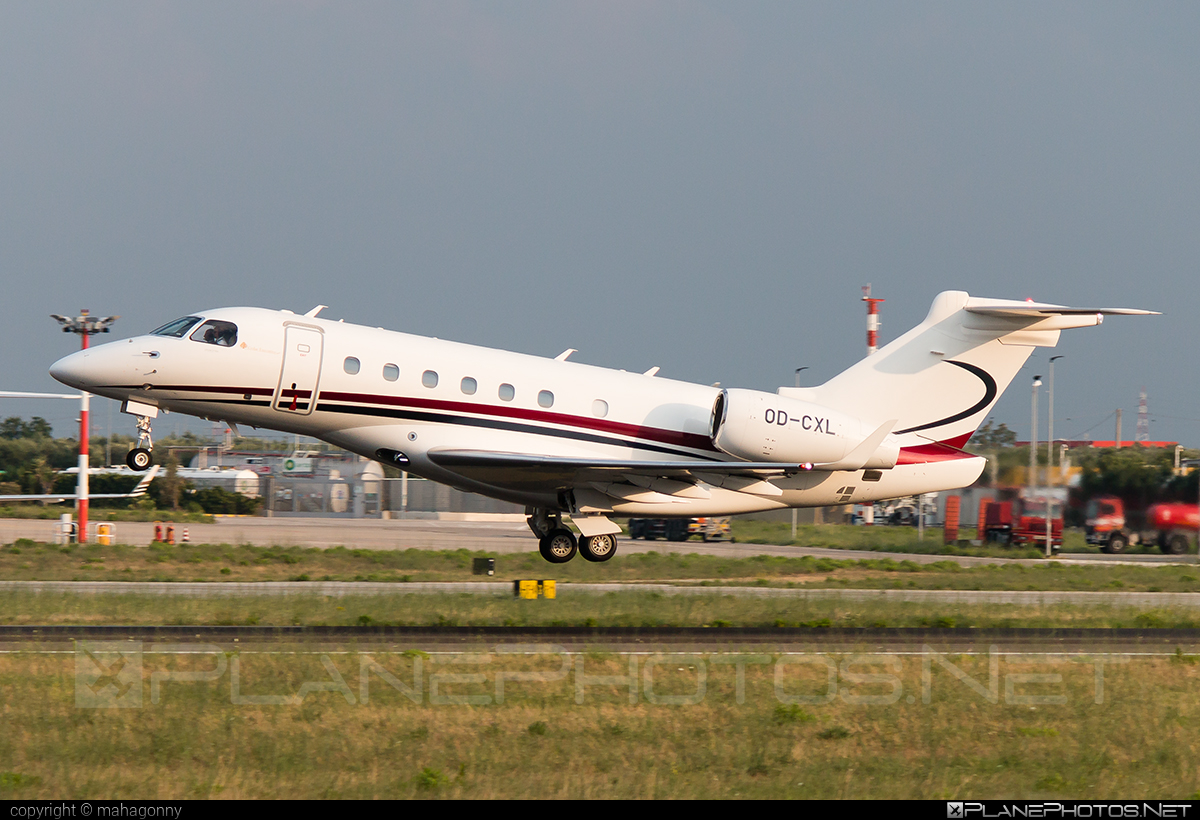 Embraer Legacy 500 (EMB-550) - OD-CXL operated by Private operator #emb550 #embraer #embraer550 #embraerlegacy #legacy500