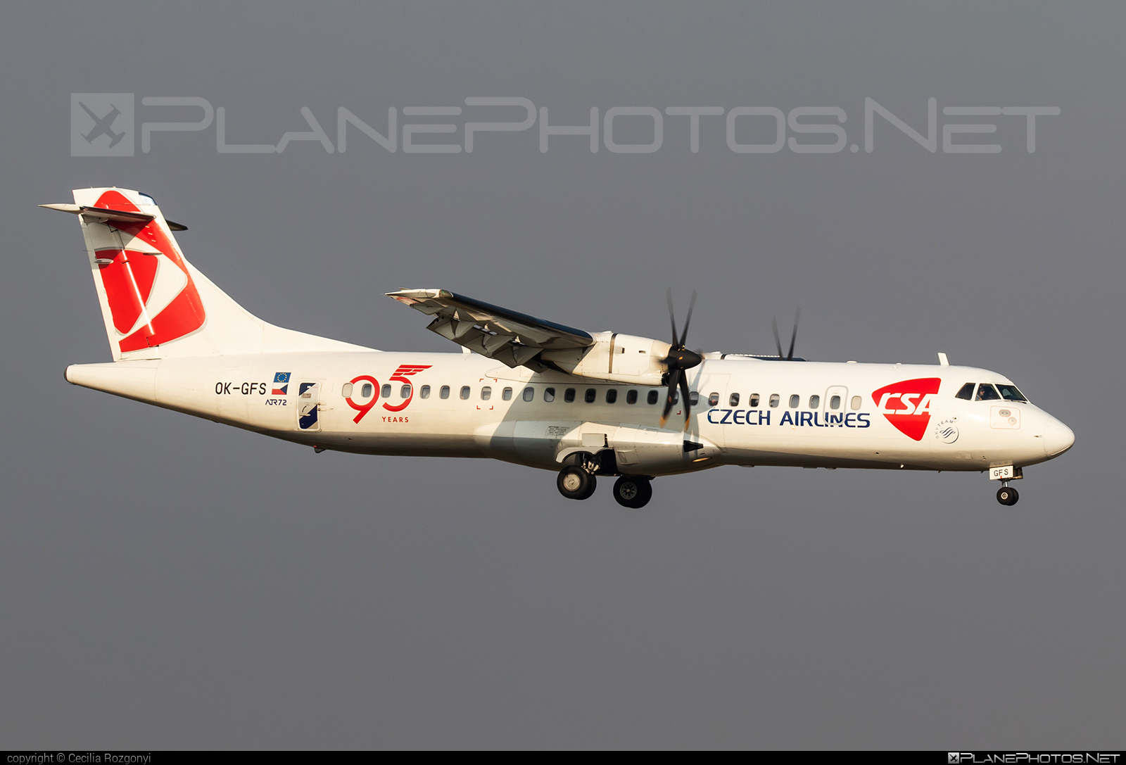 ATR 72-212A - OK-GFS operated by CSA Czech Airlines #atr #csa #czechairlines