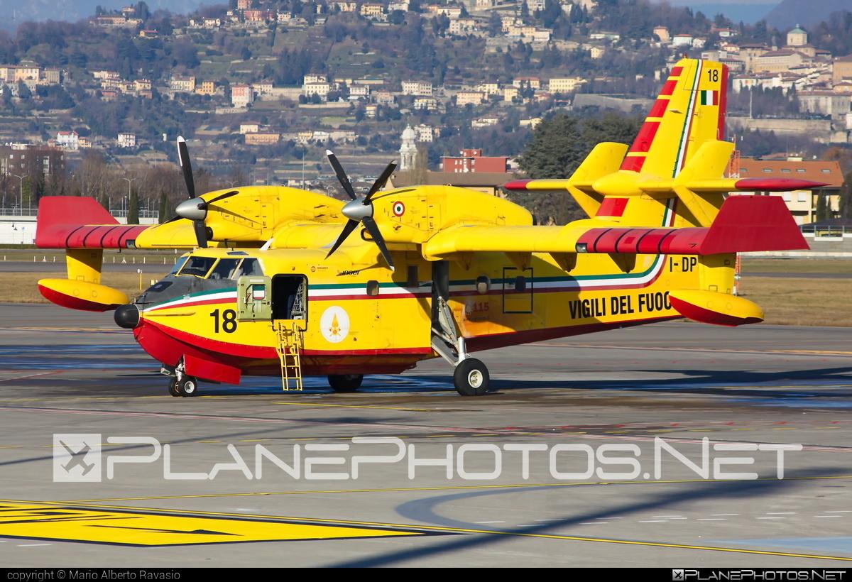 Bombardier CL-415 - I-DPCT operated by Corpo nazionale dei vigili del Fuoco (Italian National Firefighters Corps) #bombardier #bombardier415 #bombardiercl415 #cl415 #corponazionaledeivigilidelfuoco #italiannationalfirefighterscorps #vigilidelfuoco