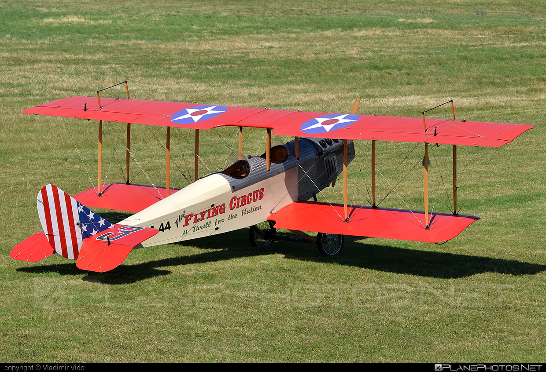 Curtiss JN-4 Jenny (replica) - OK-SAA 44 operated by Private operator #curtiss #curtissjenny #curtissjennyreplica #jn4jenny #jn4jennyreplica