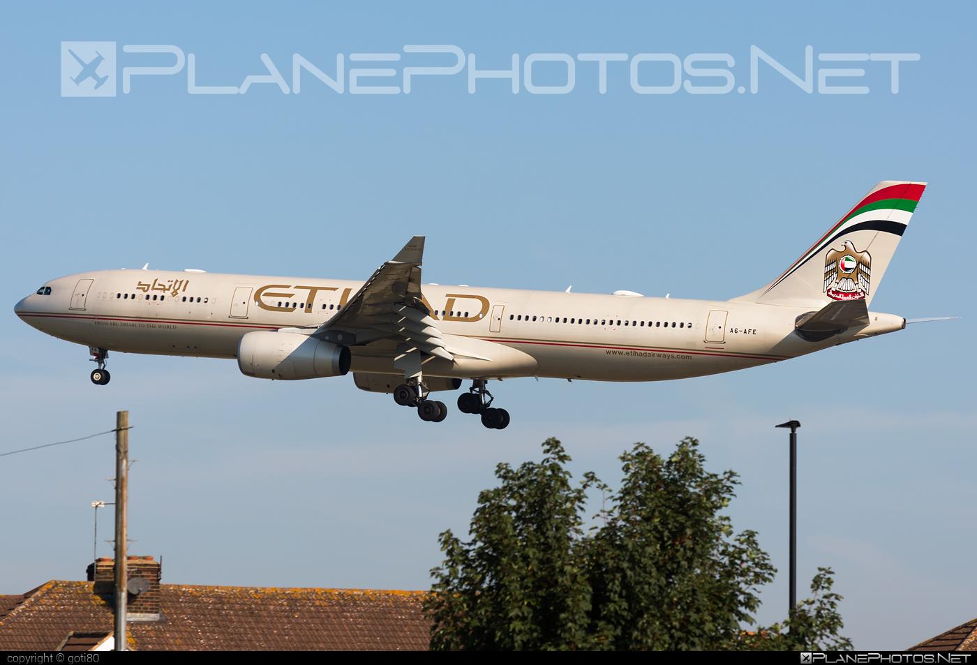 Etihad Airways Airbus A330-343 - A6-AFE #a330 #a330family #airbus #airbus330 #etihad #etihadairways